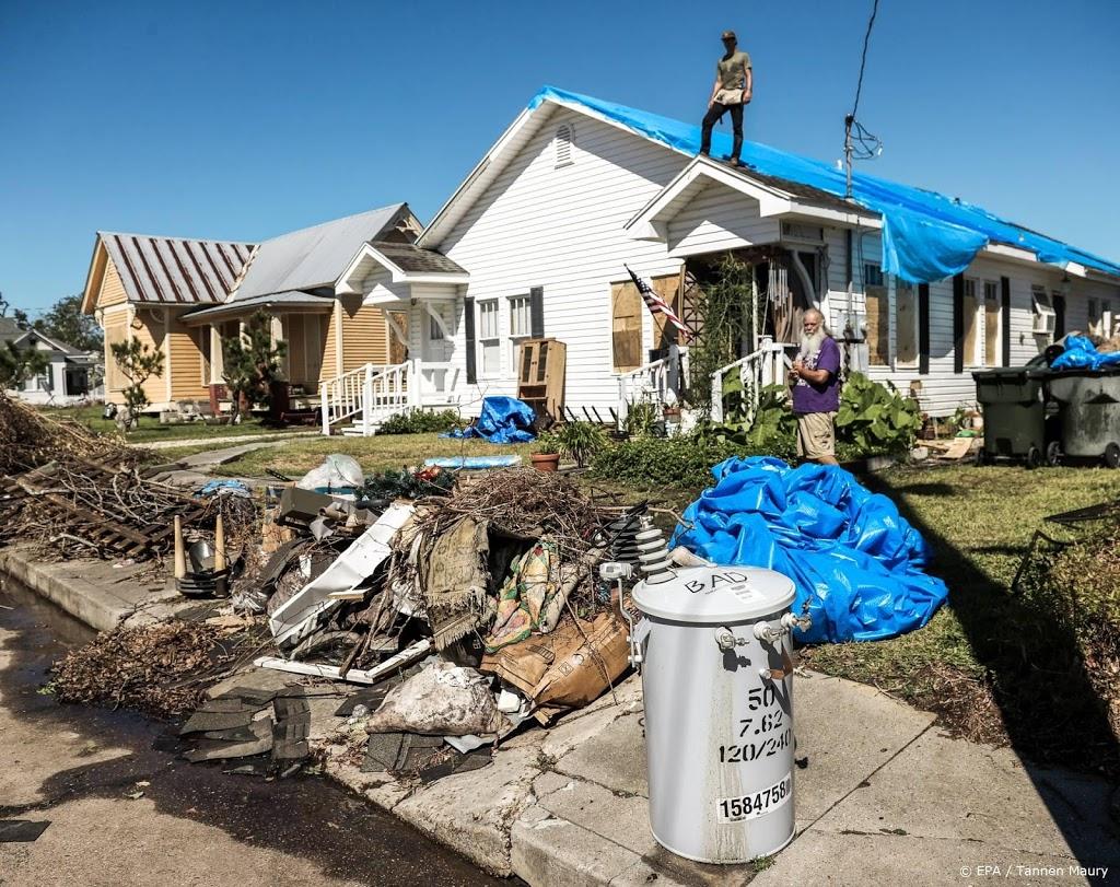 Orkaan Delta raast over Amerikaanse staat Louisiana