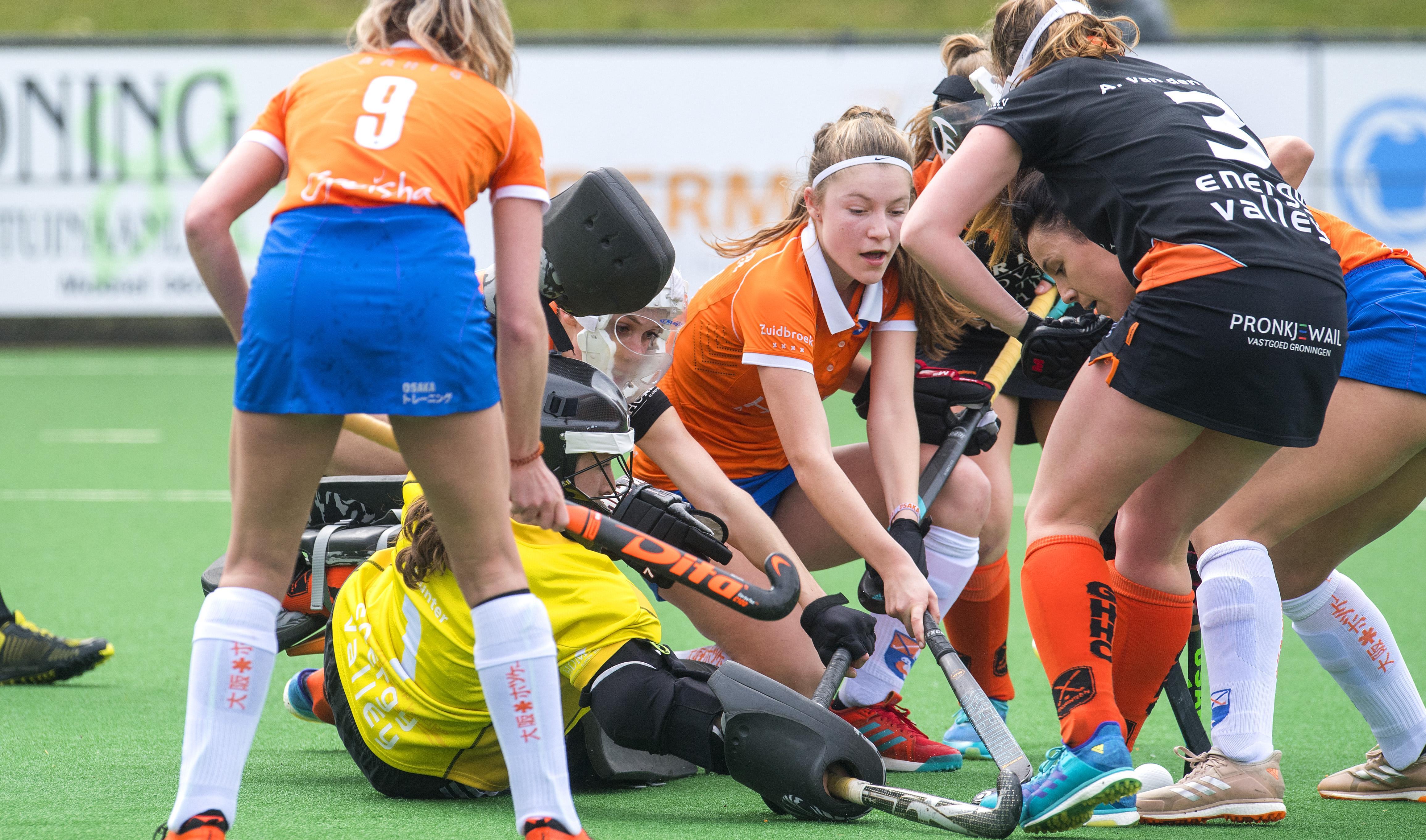 Bloemendaal-hockeysters dichterbij handhaving