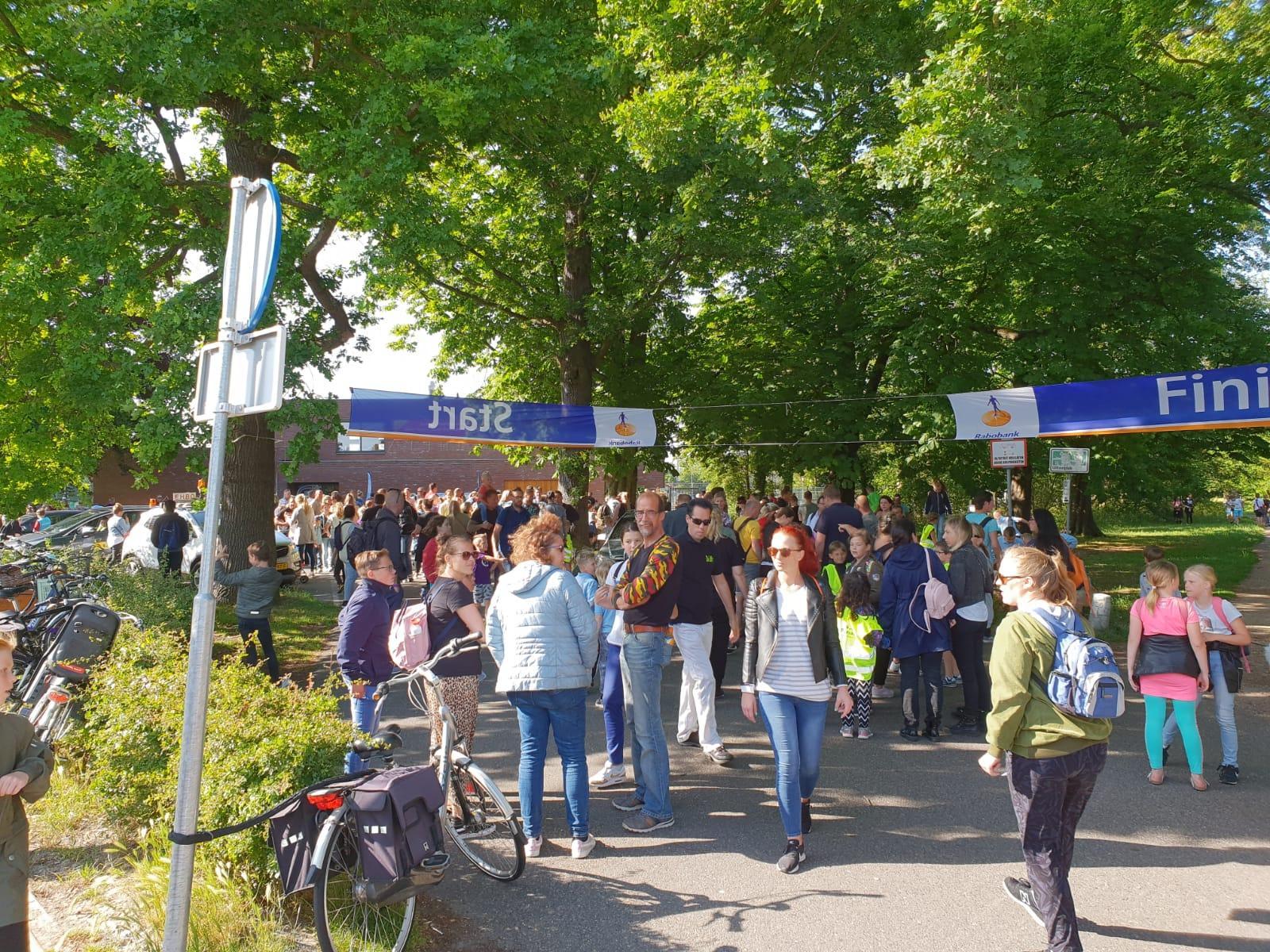 Vierdaagse IJmuiden start half uur eerder in verband met verwacht onweer