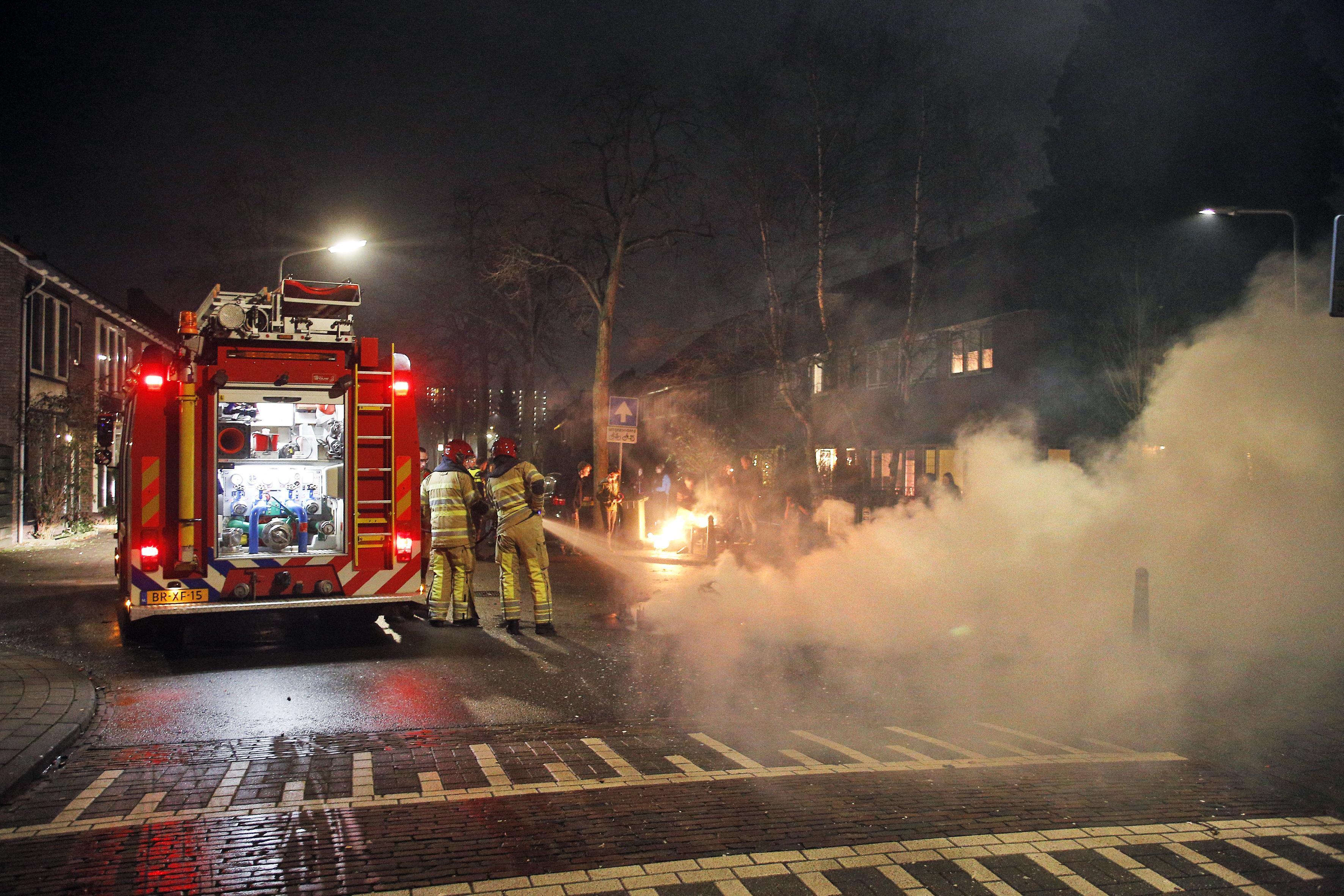 Brandweer Gooi en Vechtstreek: jaarwisseling rustig verlopen