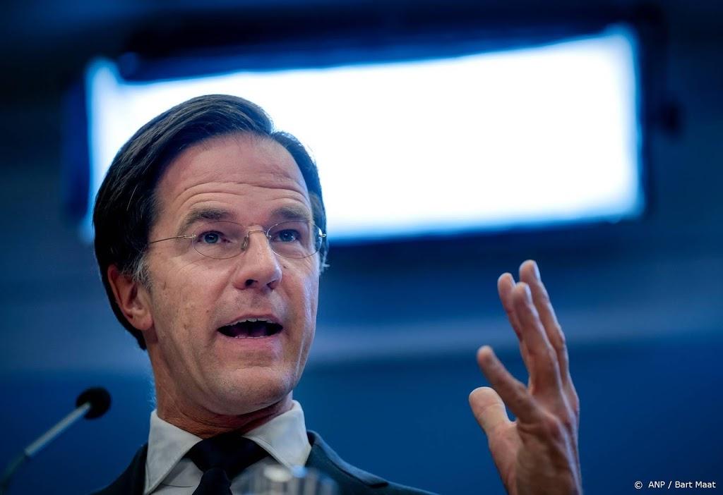 Rutte: avondklok dit weekend, hangt af van Kamerdebat