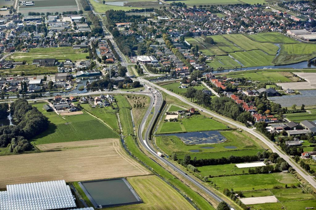 Provincie: Aanleg van Largas-verkeersplein en rotonde in N504 begint volgend jaar mei