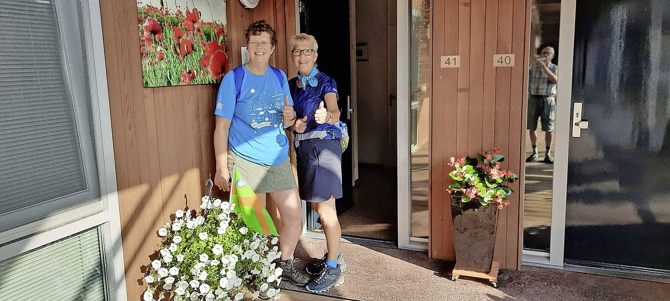 Alternatieve 4-daagse vanuit Andijk: Ans en José stappen lekker door de regio