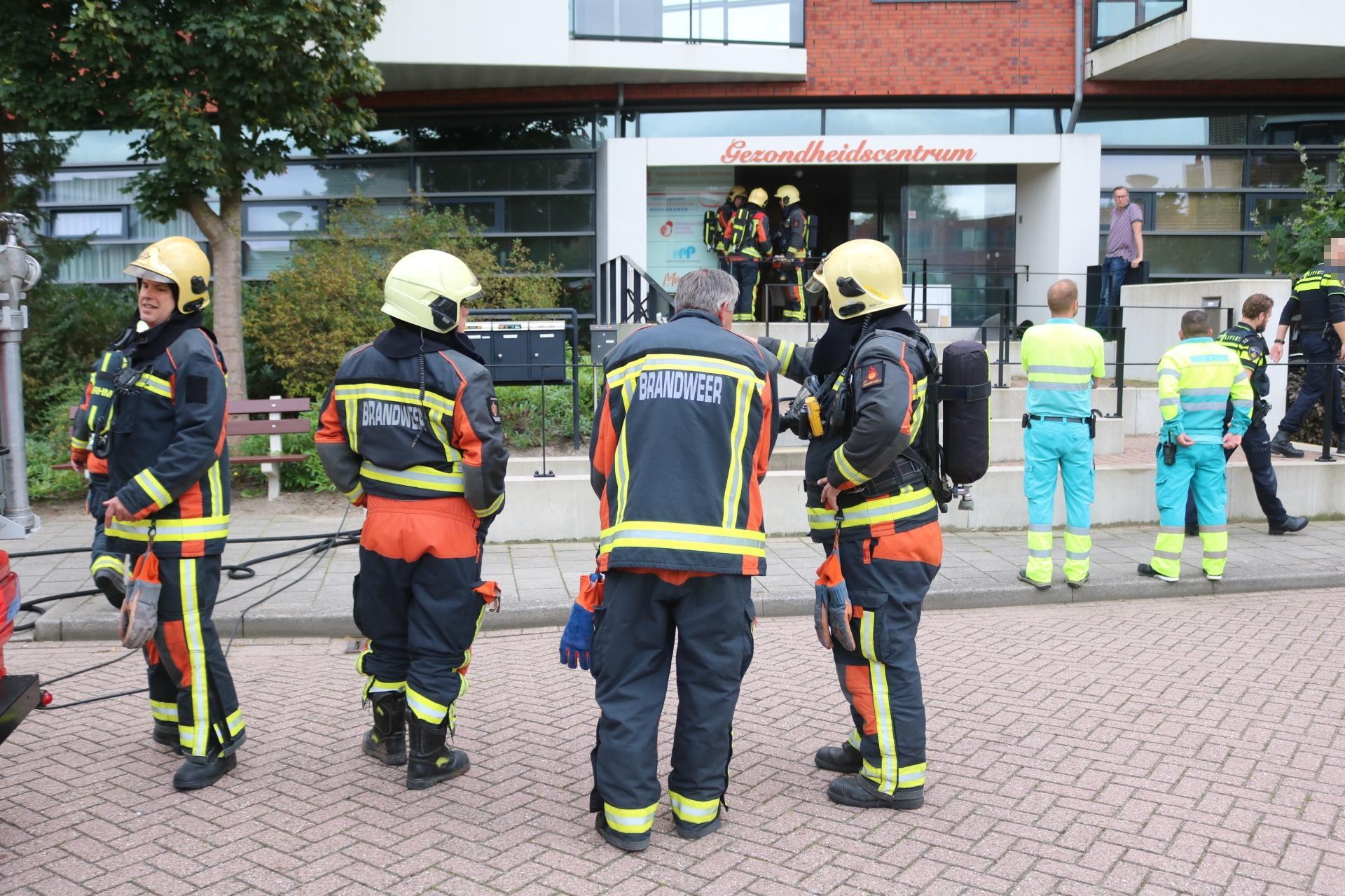 Gezondheidscentrum deels ontruimd bij brand in Voorhout