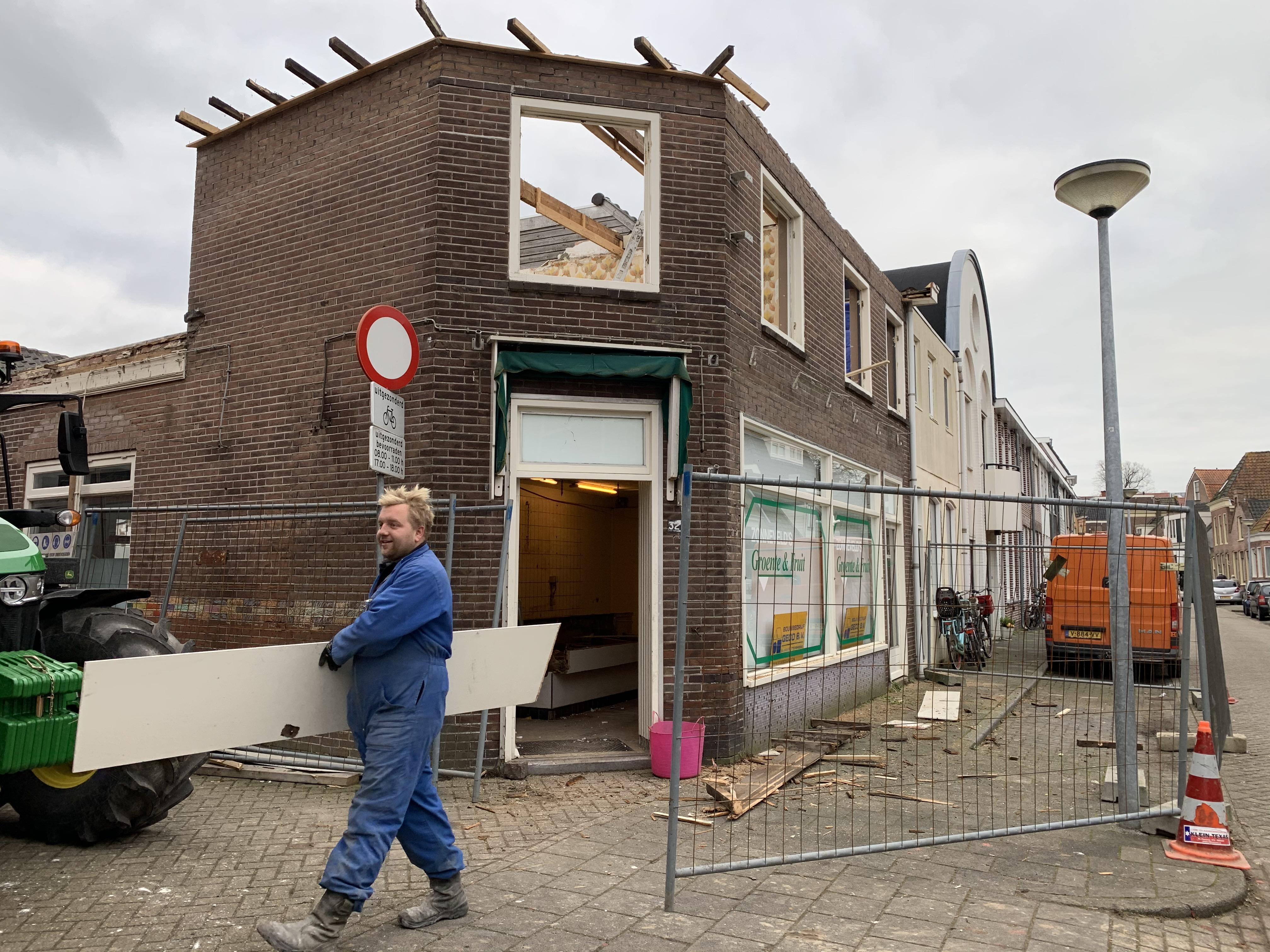 De groentewinkel op het hoekje van Varnebroek in Alkmaar verdwijnt