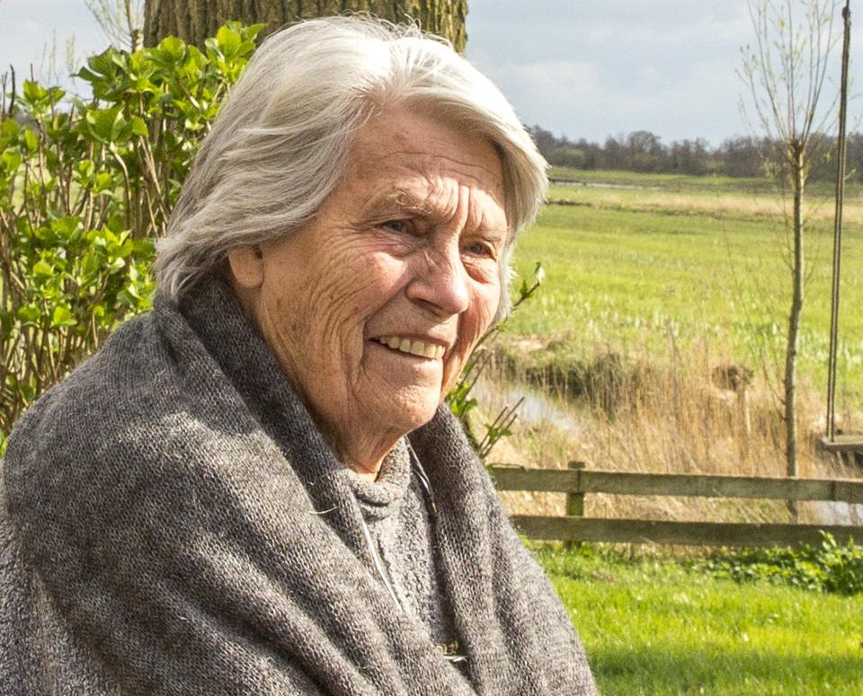 Annemieke Poelmann-ten Berge (1929-2020): bij twee keer bellen kwam zoon Koos, bij zes keer kwam Huib