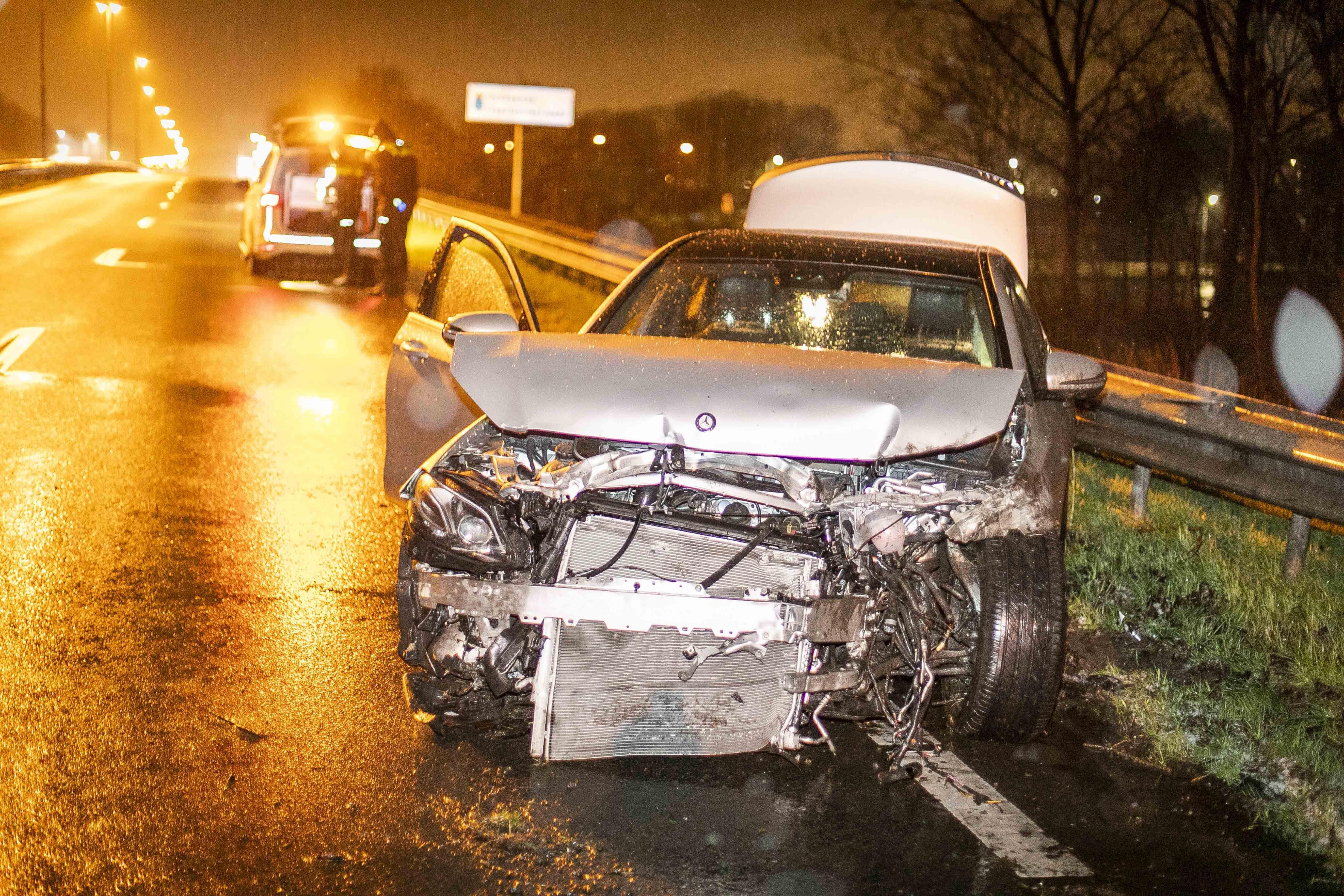 Automobilist aangehouden na ongeluk op Schipholweg Haarlem