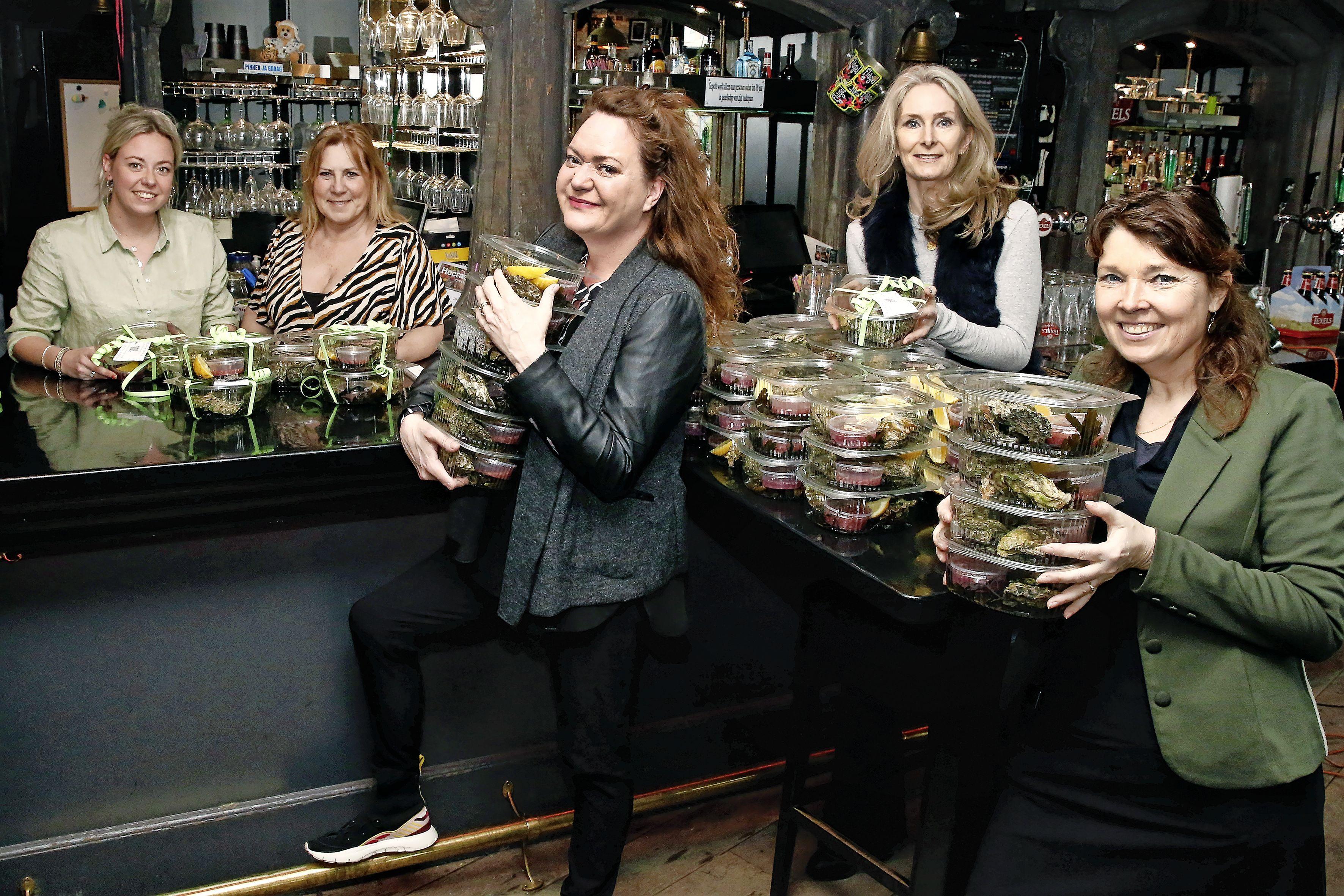 Oesters eten en de opbrengst is voor Stichting Viore: 'Een heel mooi initiatief en nog lekker ook'