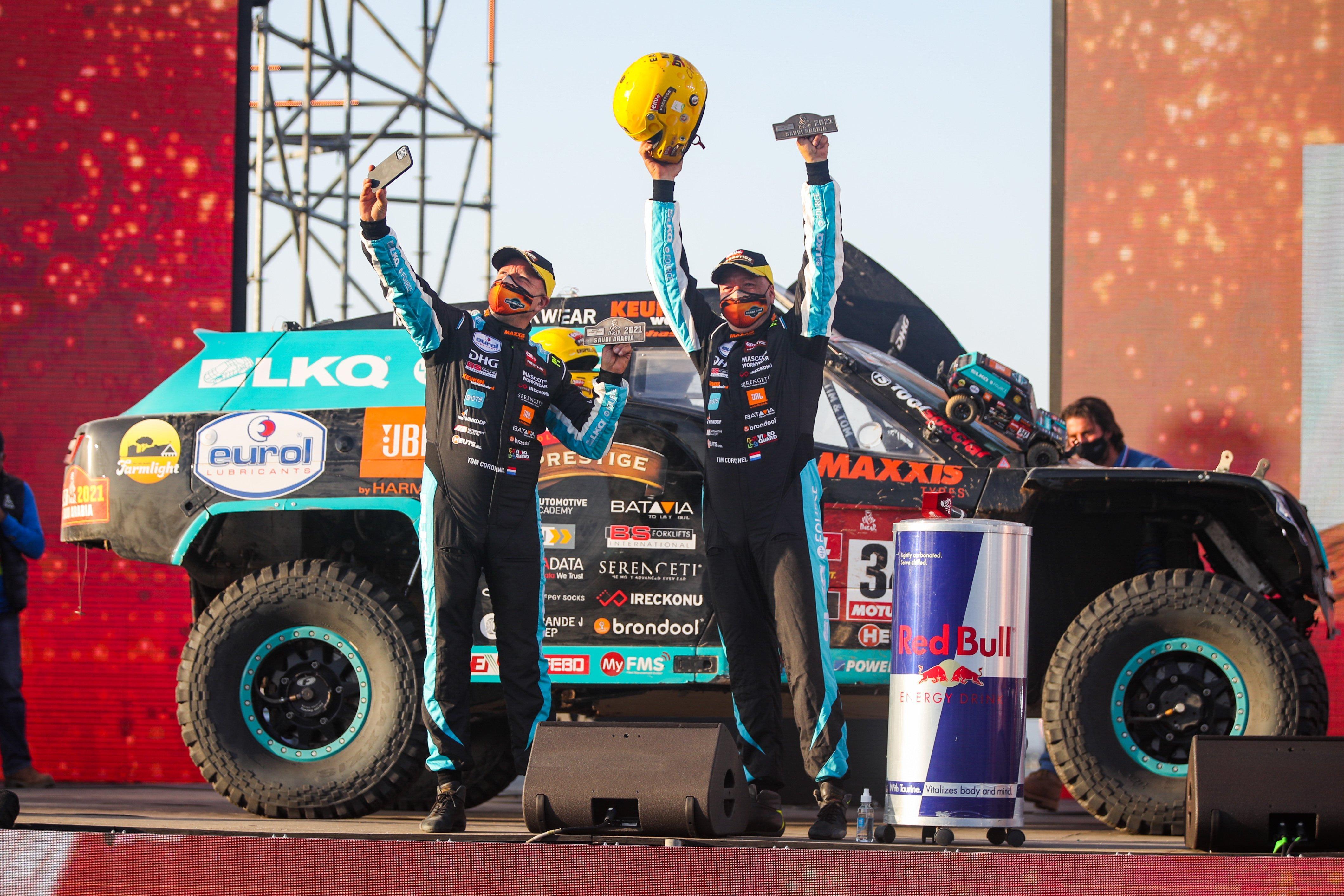 Broers Coronel rijden loodzware Dakar-rally zonder noemenswaardige problemen uit: 'Maar in 2022 doen we het anders. Het wordt zestig procent competitie, veertig avontuur'