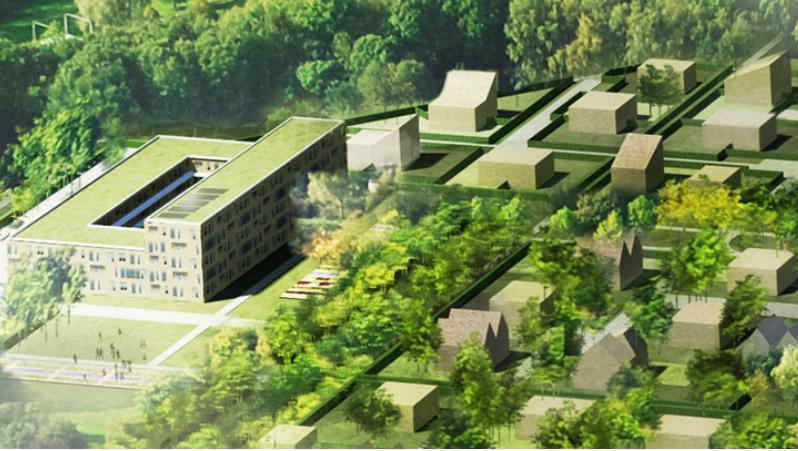 Wickevoort mag gebouwd in Cruquius [video]