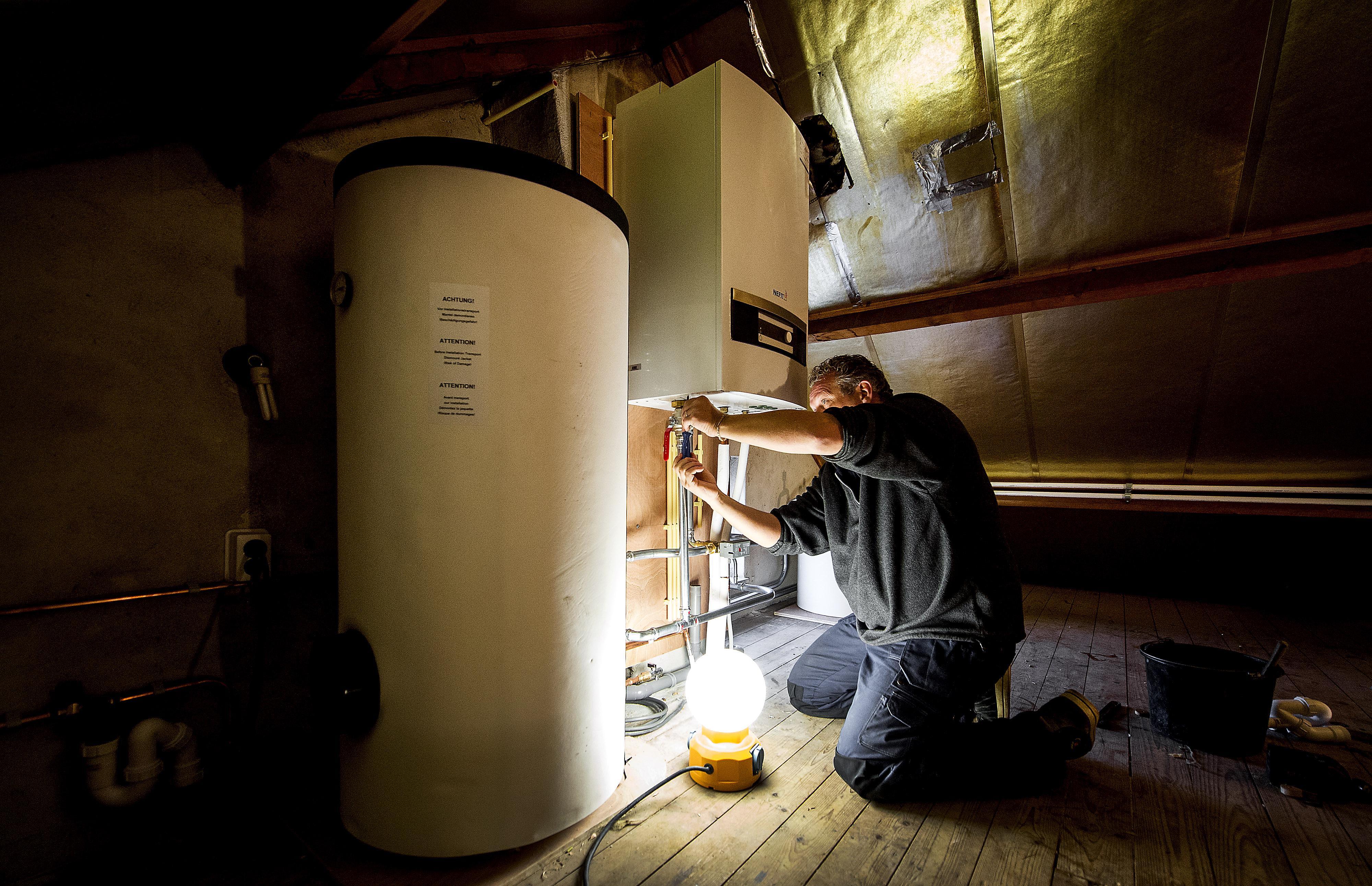 Informatie over warmtepompen bij DuDock