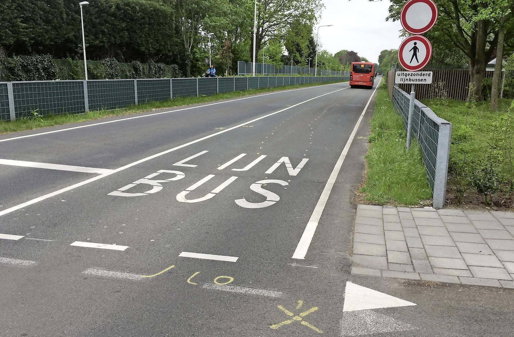 Petitie voor veiligere snelbusbaan in IJmuiden na zwaar ongeluk werpt zijn vruchten af