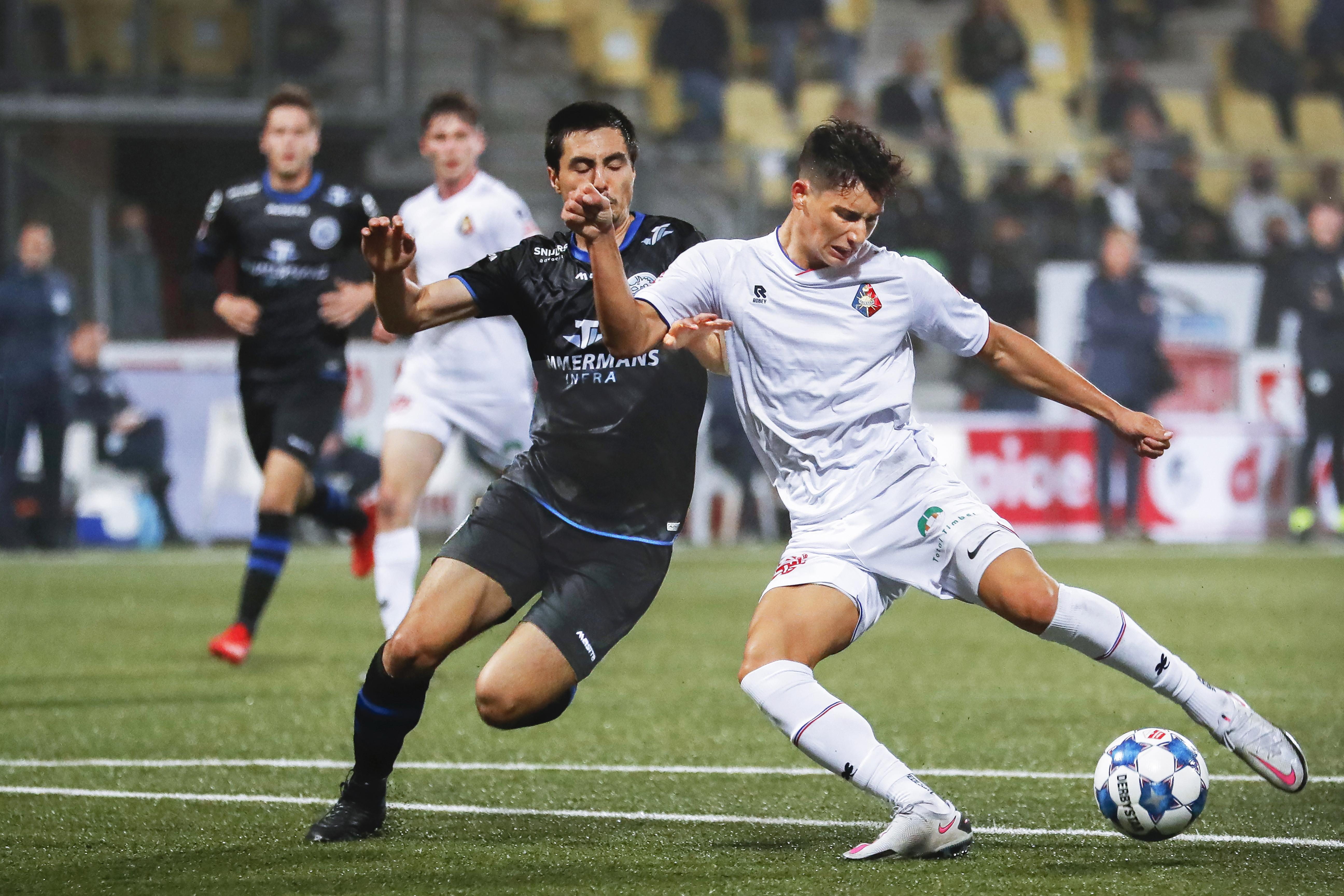 Vonken spatten er bij vlagen af bij Telstar tegen FC Den Bosch: 'Het was eigenlijk gewoon fantastisch'