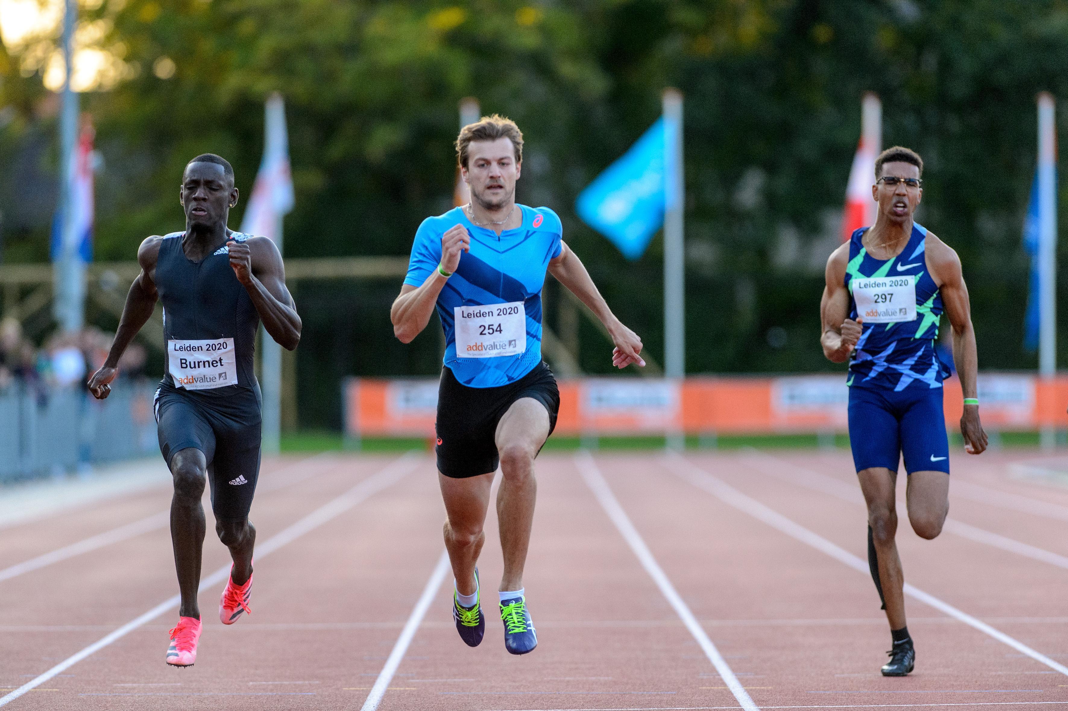 Hoog bezoek bij de Gouden Spike. Christophe Lemaitre en Dafne, sprintkanonnen van wereldklasse, maken in Leiden hun status waar [video]