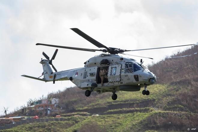 Defensie begint aan voorbereiding berging van gecrashte helikopter bij Aruba