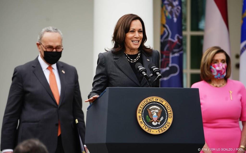 Vicepresident Harris: uitsluiting vrouwen slecht voor democratie