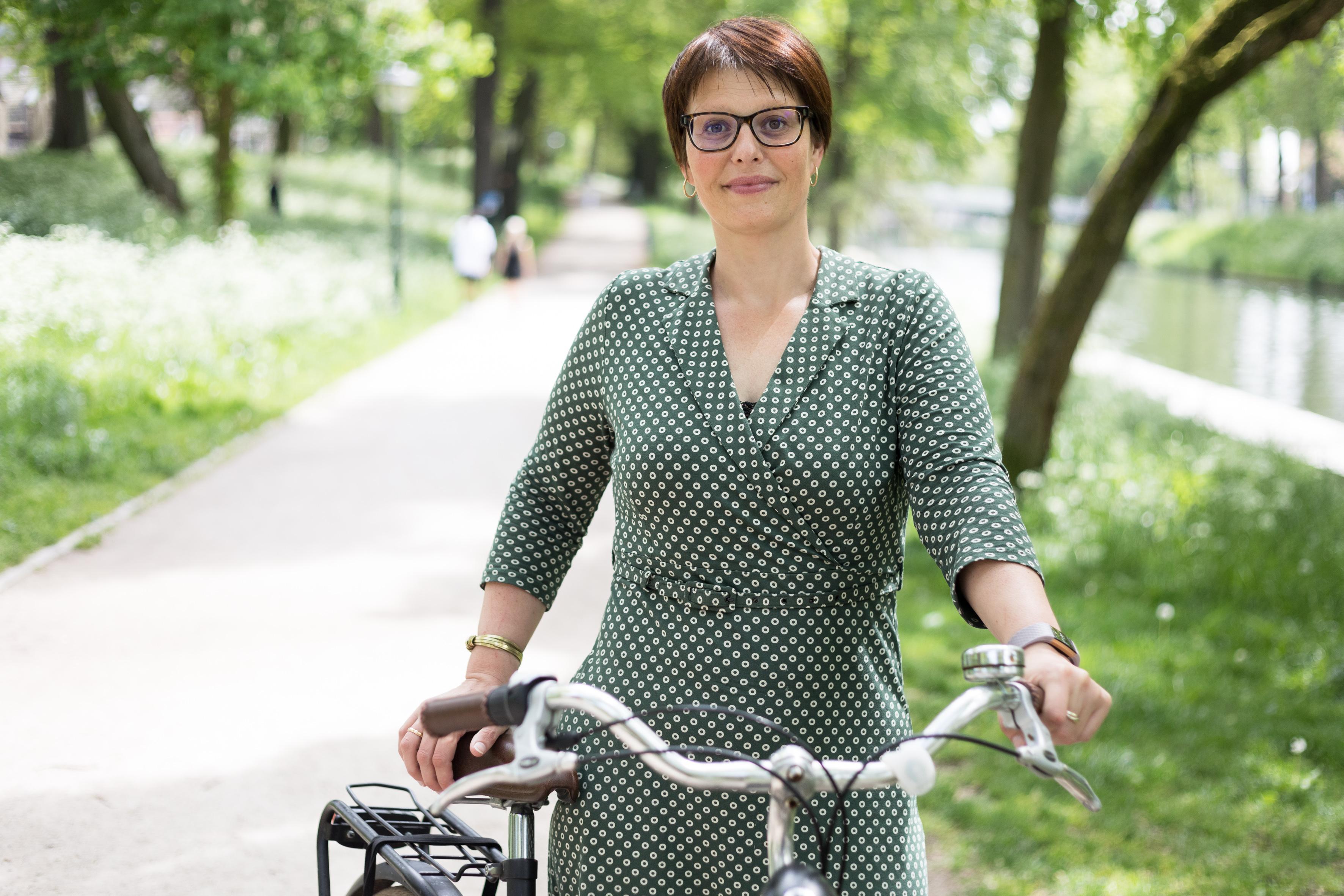 Saskia Kluit leidt mobiliteitdebat Statenverkiezingen: 'Denk bij alles aan de fiets'