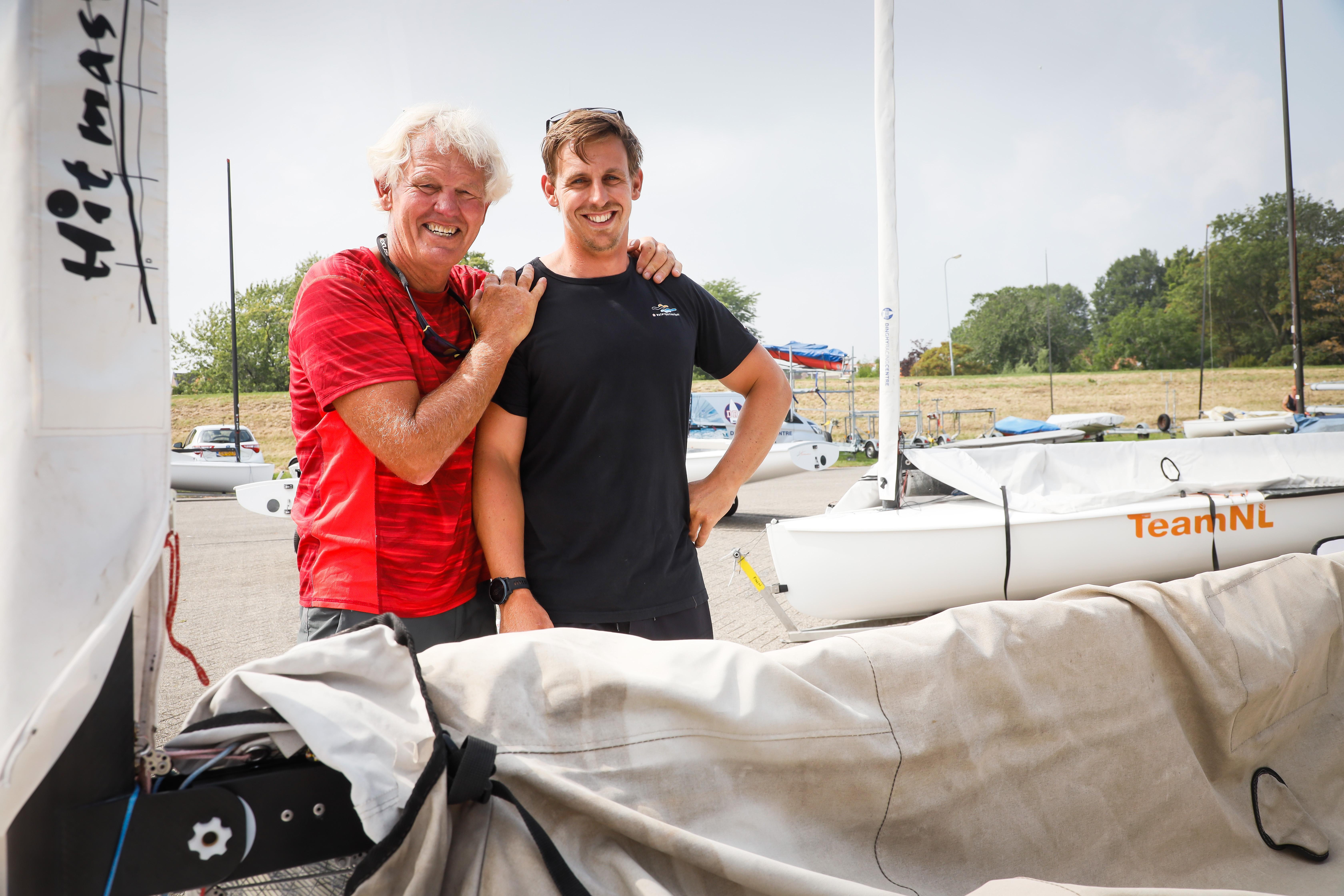 Geen Tokio maar een potje zeilen op het IJsselmeer tegen 'die ouwe' voor Nicholas Heiner: 'Het zou mooi zijn als ze ooit tegen Roy gaan zeggen: 'Hé, jij bent toch de vader ván ...?'