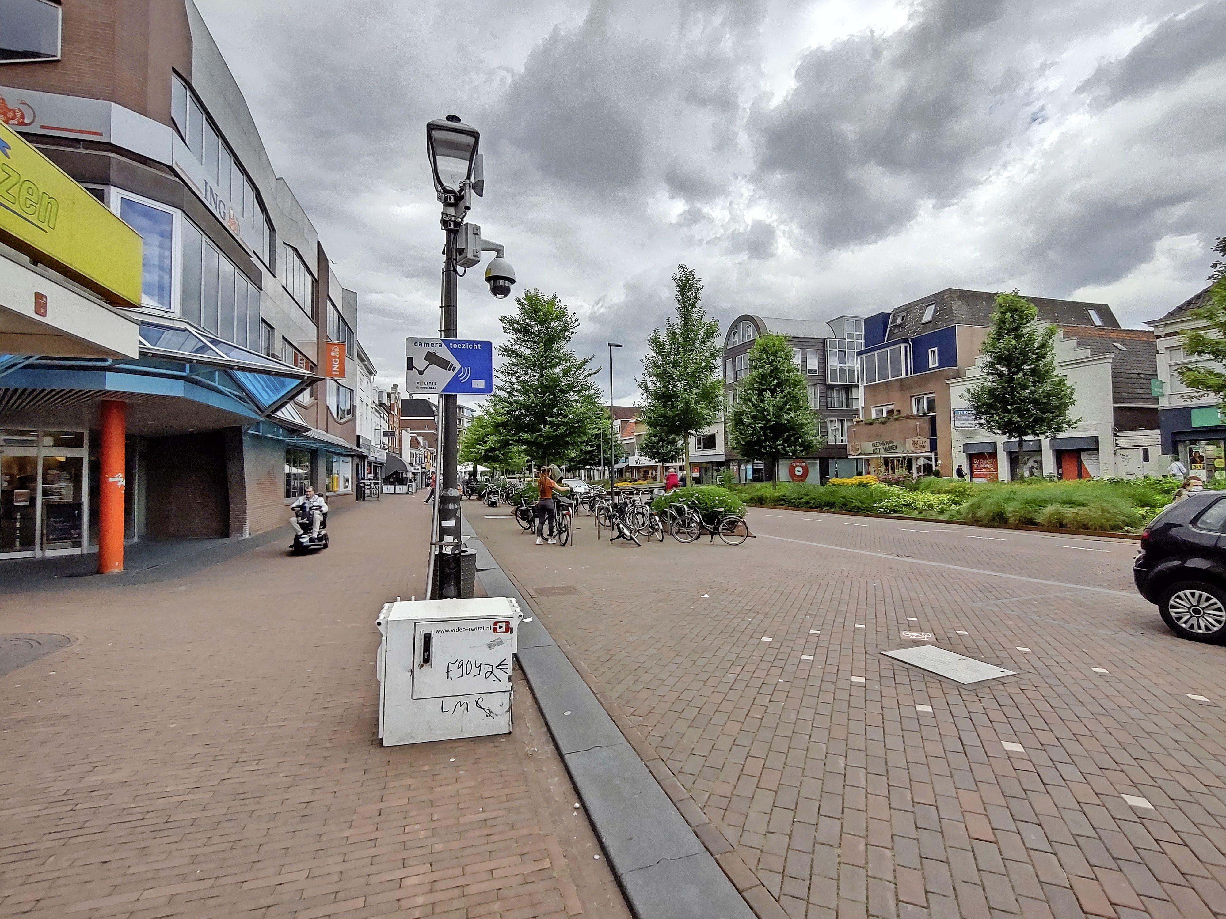 Tijdelijke bewakingscamera's houden Beverwijkse binnenstad in de gaten