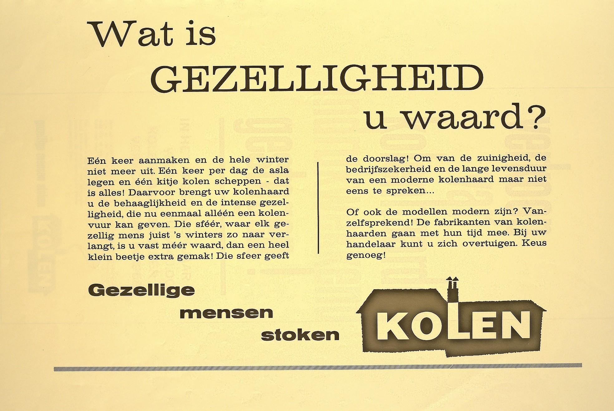 De vorige energietransitie, - van kolen naar gas - ging in Nederland vrij vlot