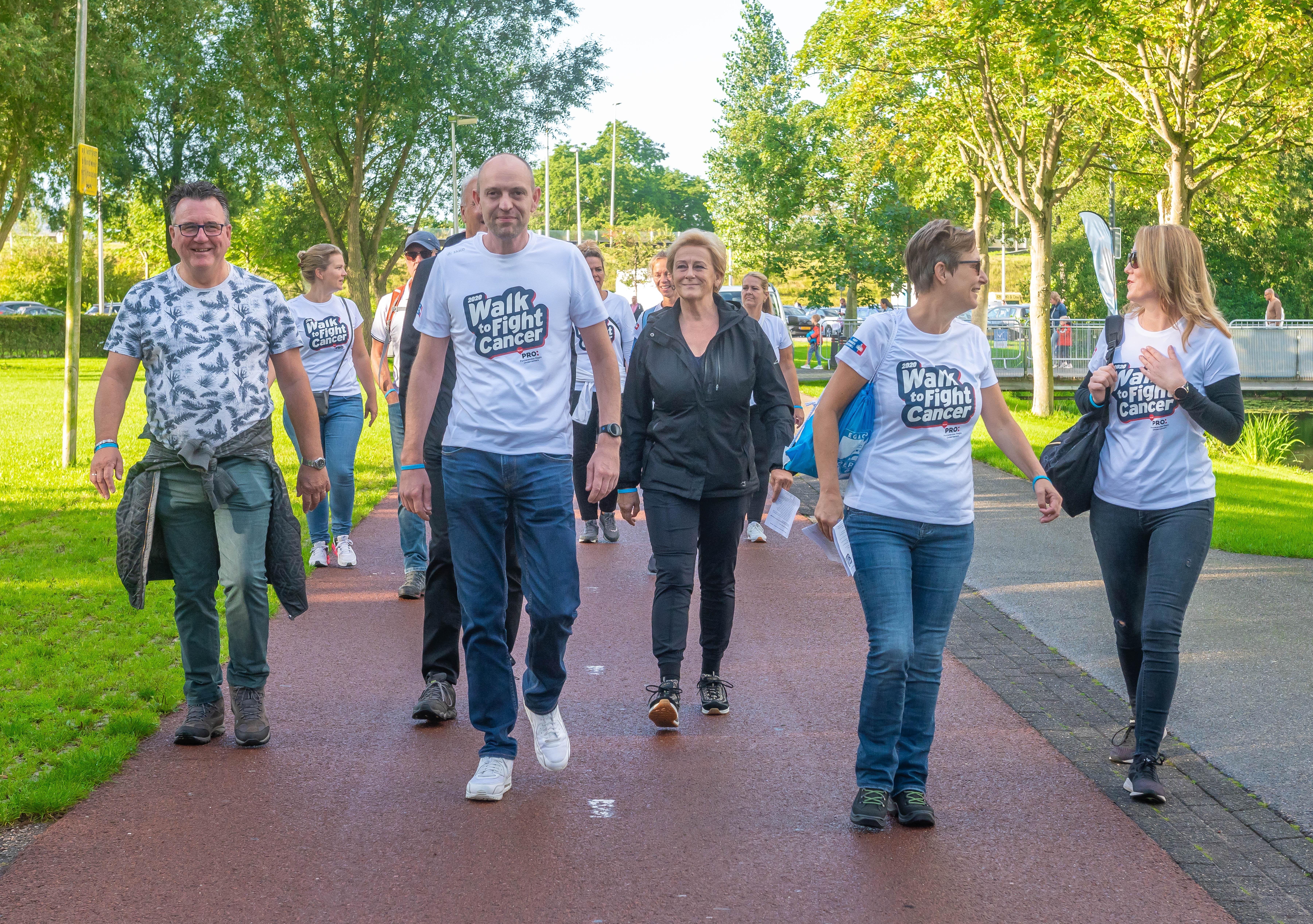 Walk To Fight Cancer. 'Mijn zoon werd ziek toen hij dertien was.'