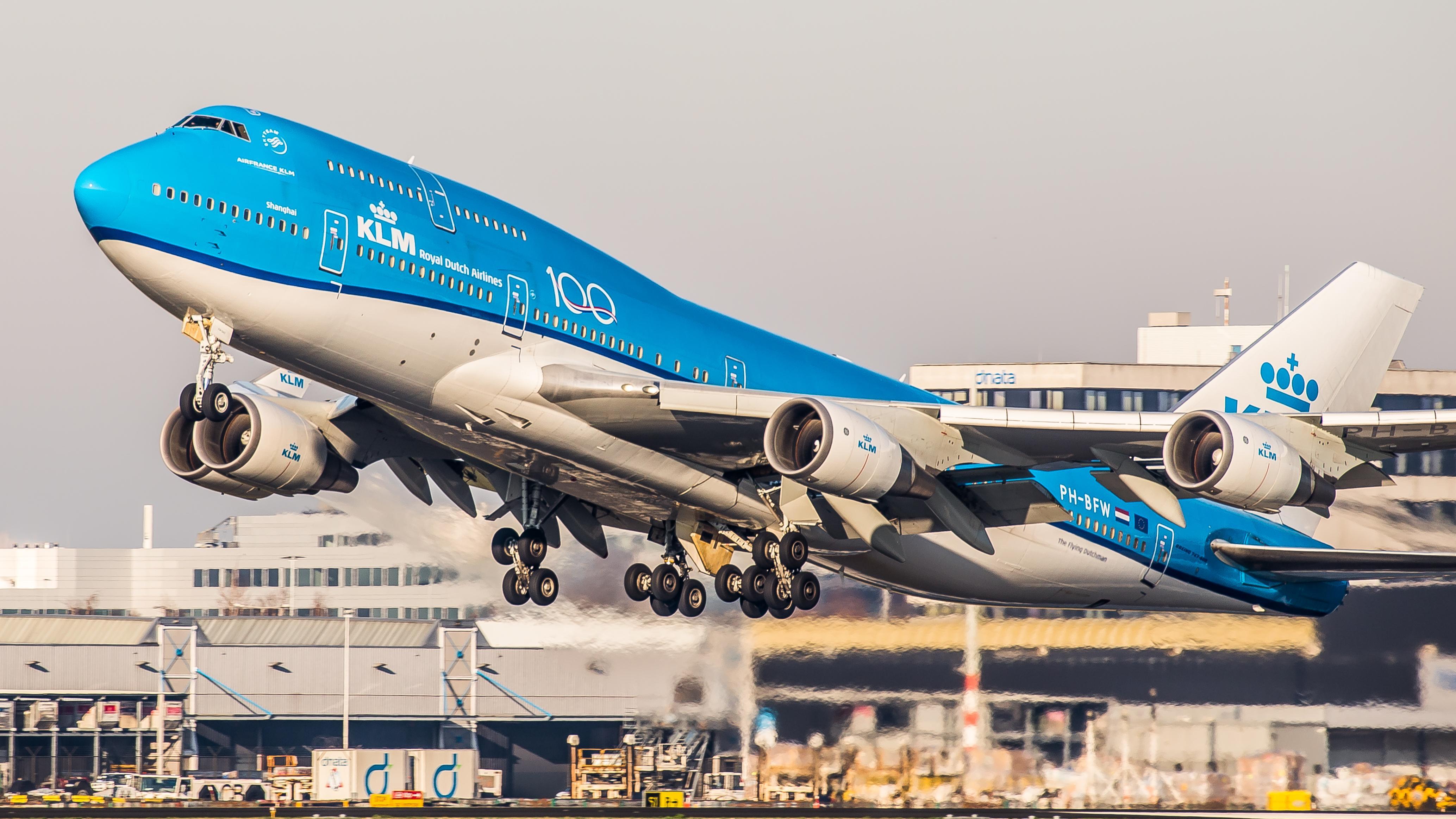 Laatste plaatjes van een dame, de Boeing 747, Queen of the Skies van KLM