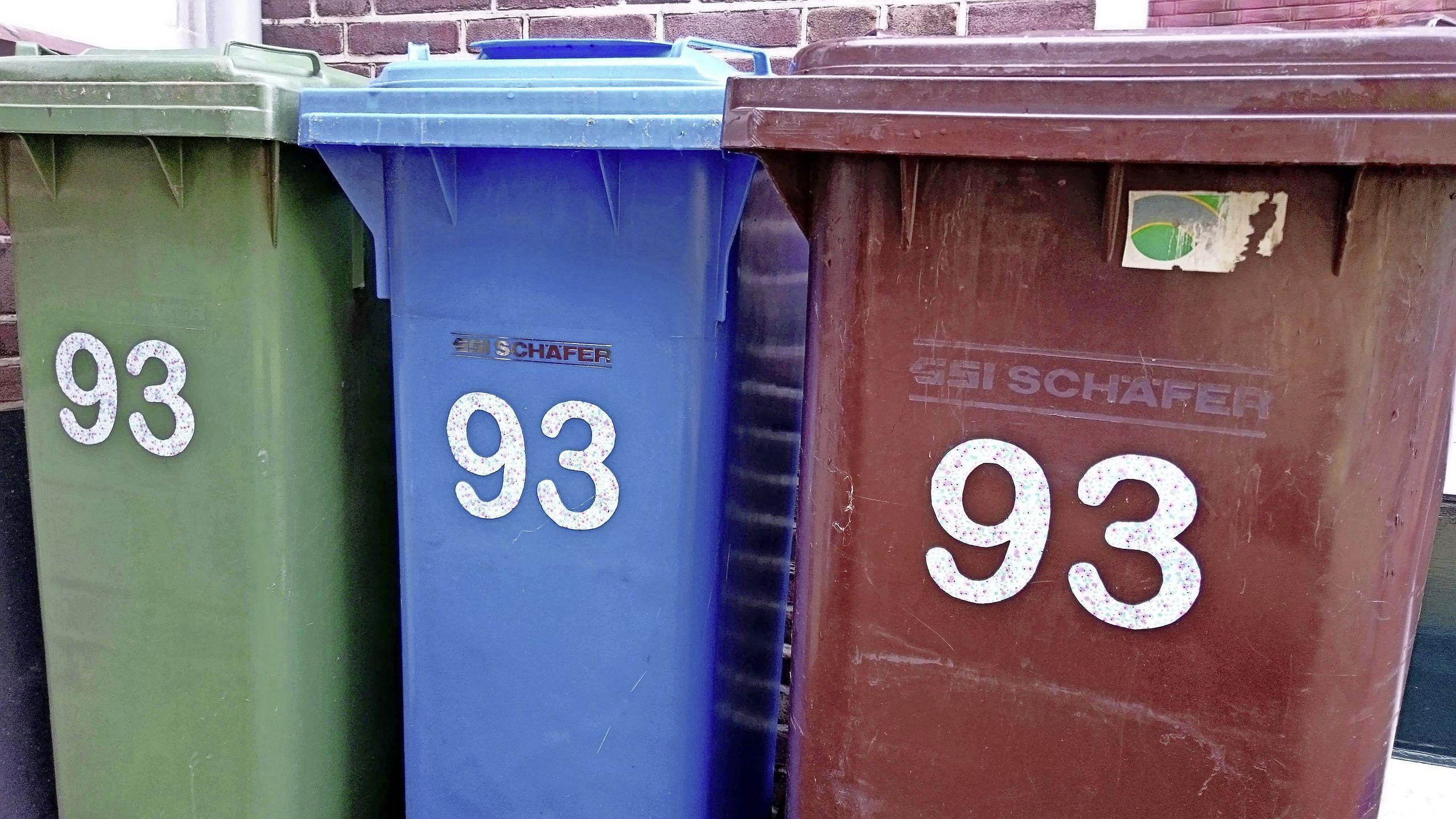 Zorgen CDA over chips in nieuwe vuilcontainers Leiderdorp
