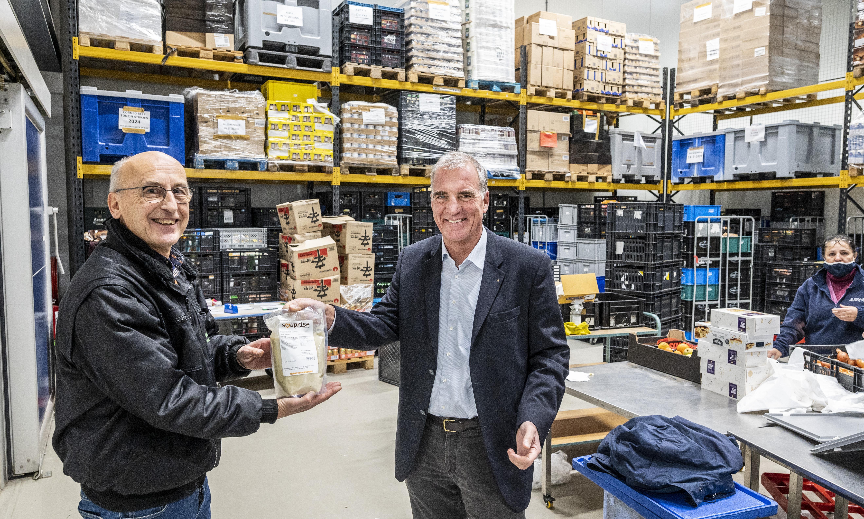 Voedselbank Haarlemmermeer krijgt 5.000 liter soep, goed voor 20.000 porties
