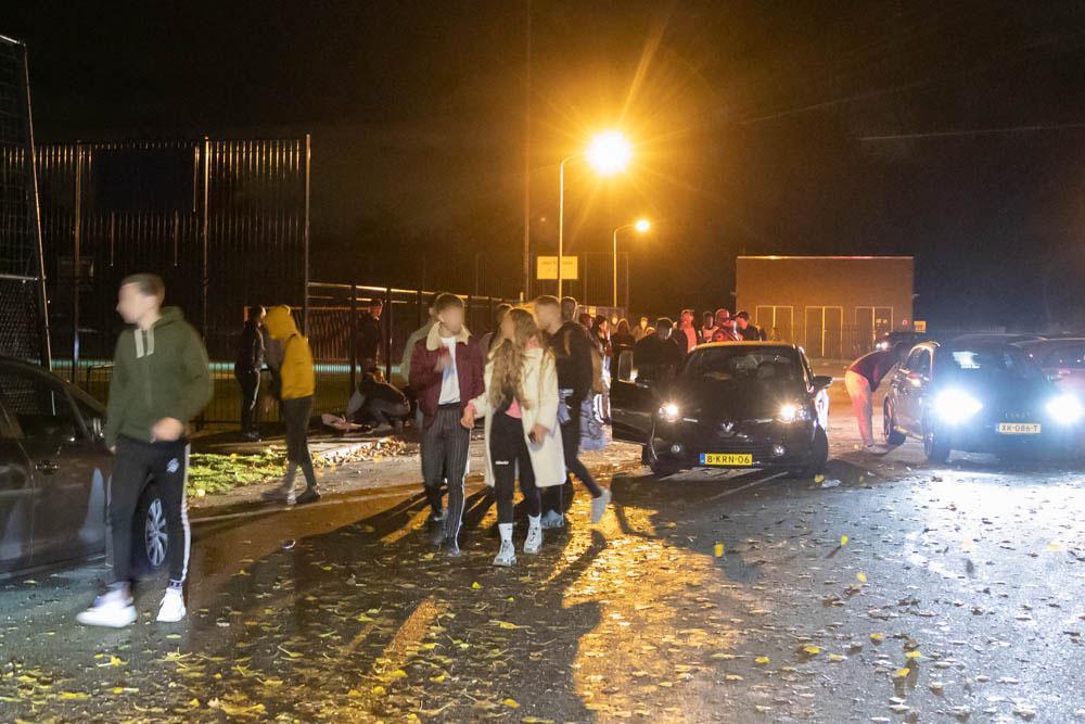 Politie: focus op beëindigen illegaal feest in Hilversum in plaats van boetes