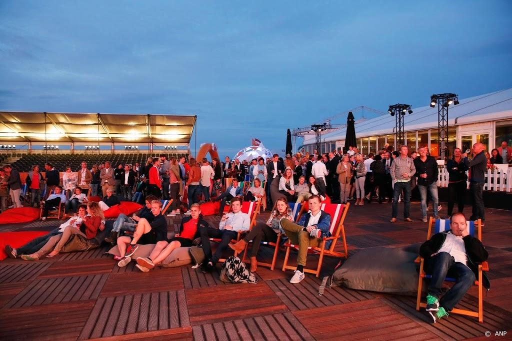 Sportfans kunnen Olympische Spelen volgen op strand Scheveningen
