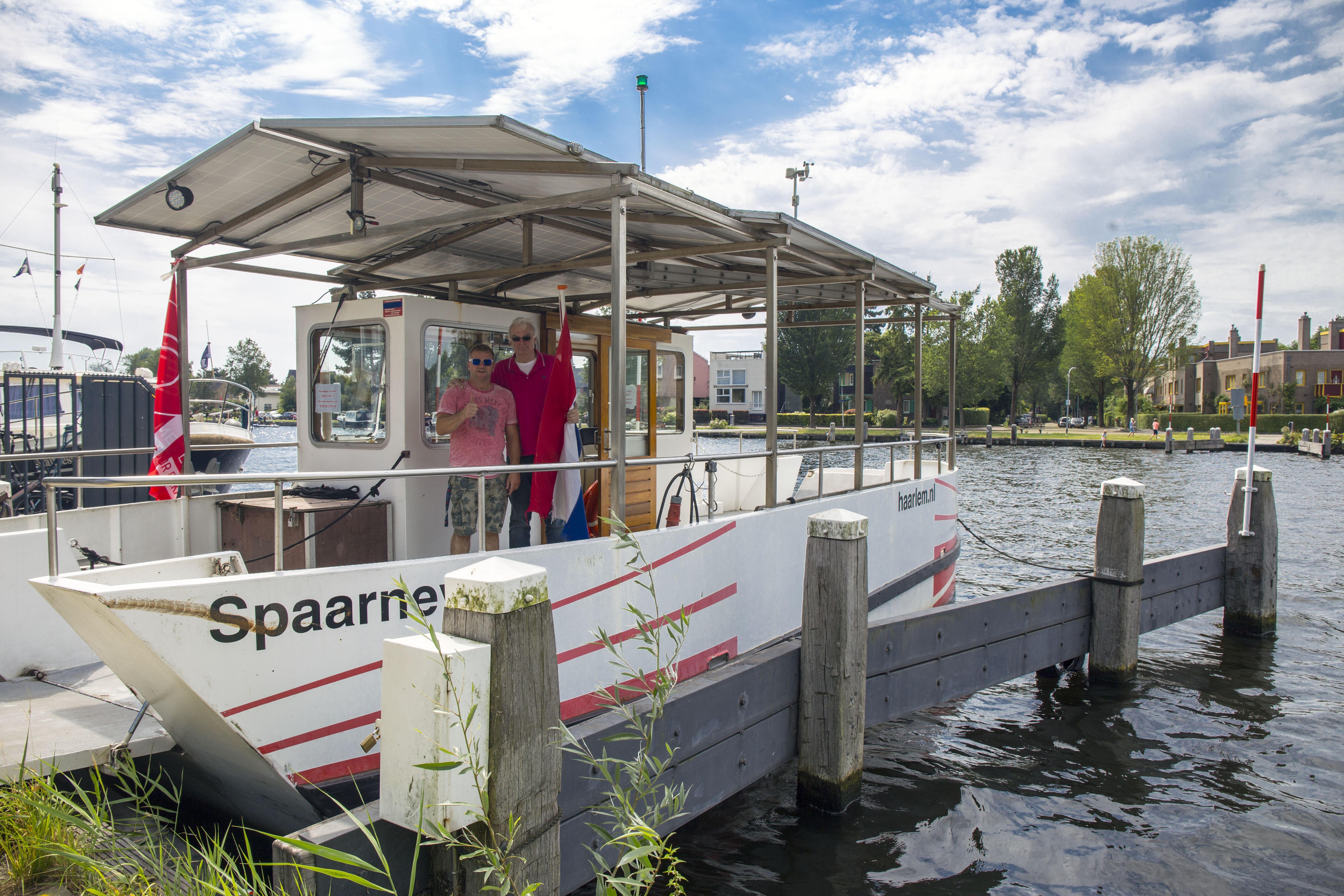 Goed nieuws bij alle Haarlemse bruggenleed: Spaarneveer weer in de vaart