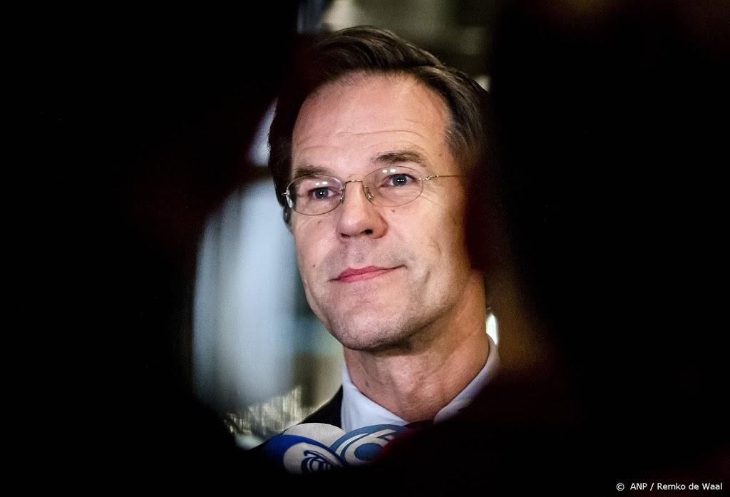 Peiling: vertrouwen in Rutte keldert