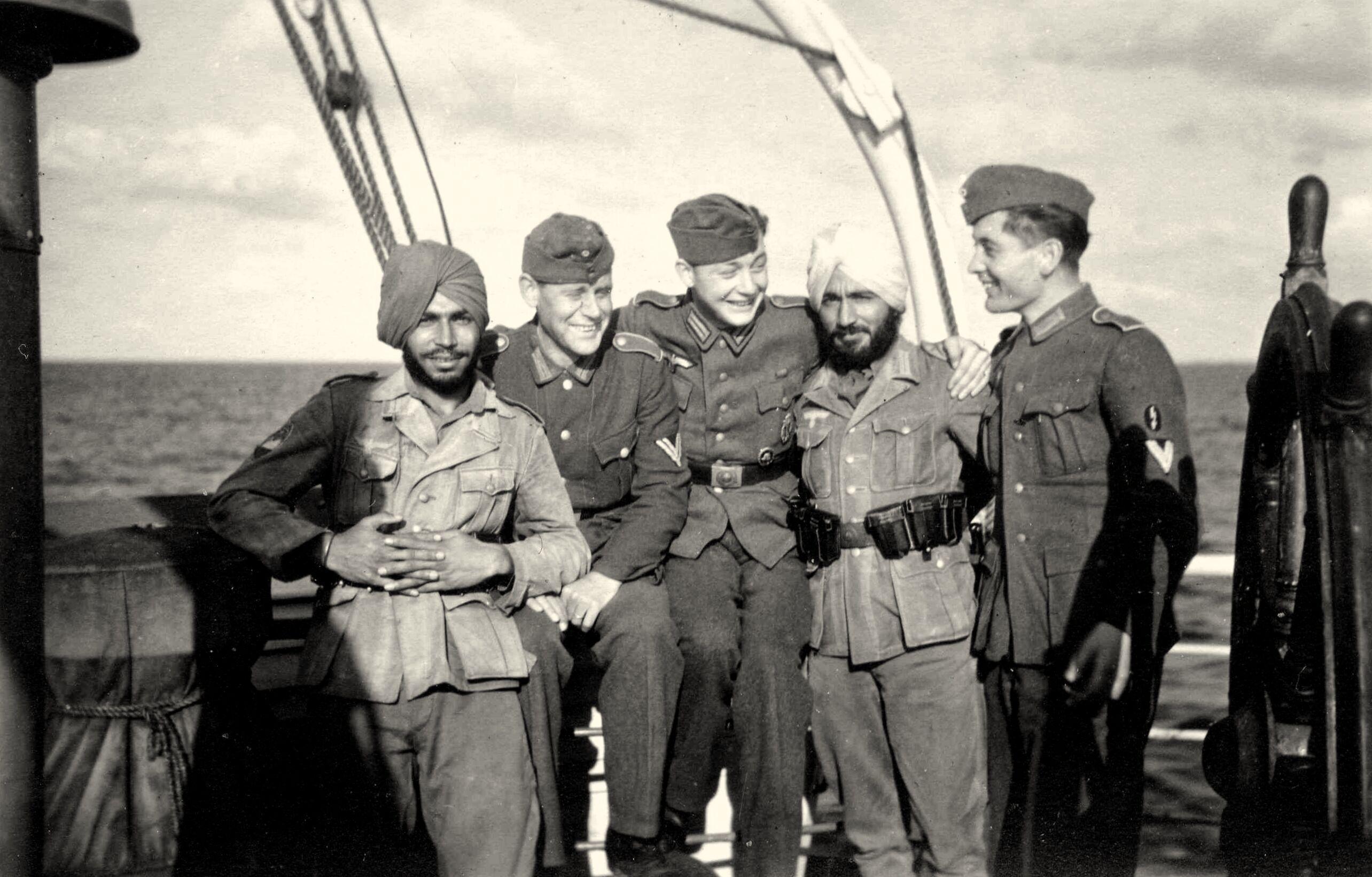 Drieduizend Indiase Sikhs, hindoes en moslims in Duits uniform brachten in bezet Nederland harten op hol