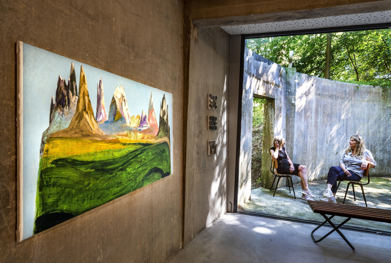 Eindelijk weer een expositie bij Castellvm Aqvae: 'De afstand blijft, maar kunst brengt iedereen gevoelsmatig wel dichter bij elkaar'