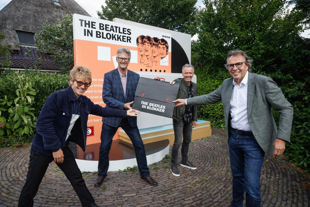 Beatlesmonument in Oosterblokker is nu van gemeente: 'Mooi dat we met The Beatles ooit wereldnieuws waren'
