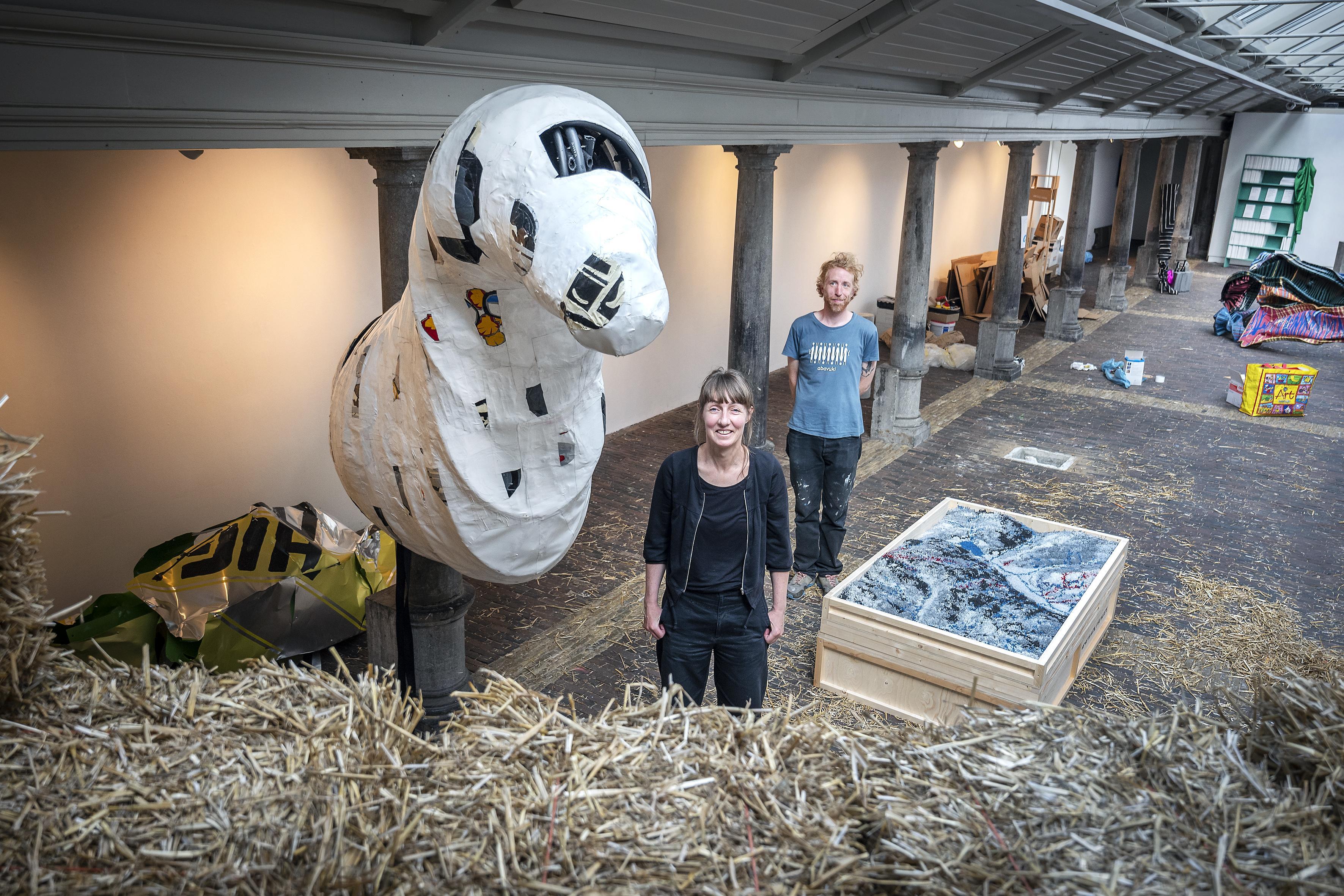 Expositie 'Achtung! Spielplatz' in Vishal Haarlem toont dat spel, kennis en kunst nog steeds hand in hand gaan