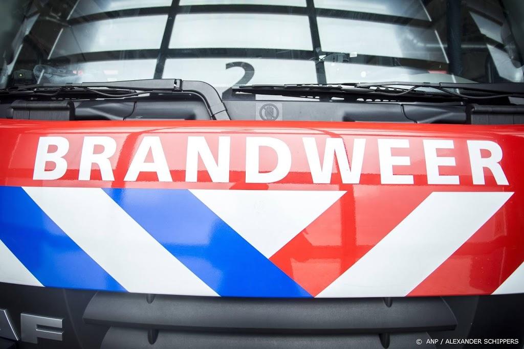Grote brand in woningen in Veendam, geen gewonden
