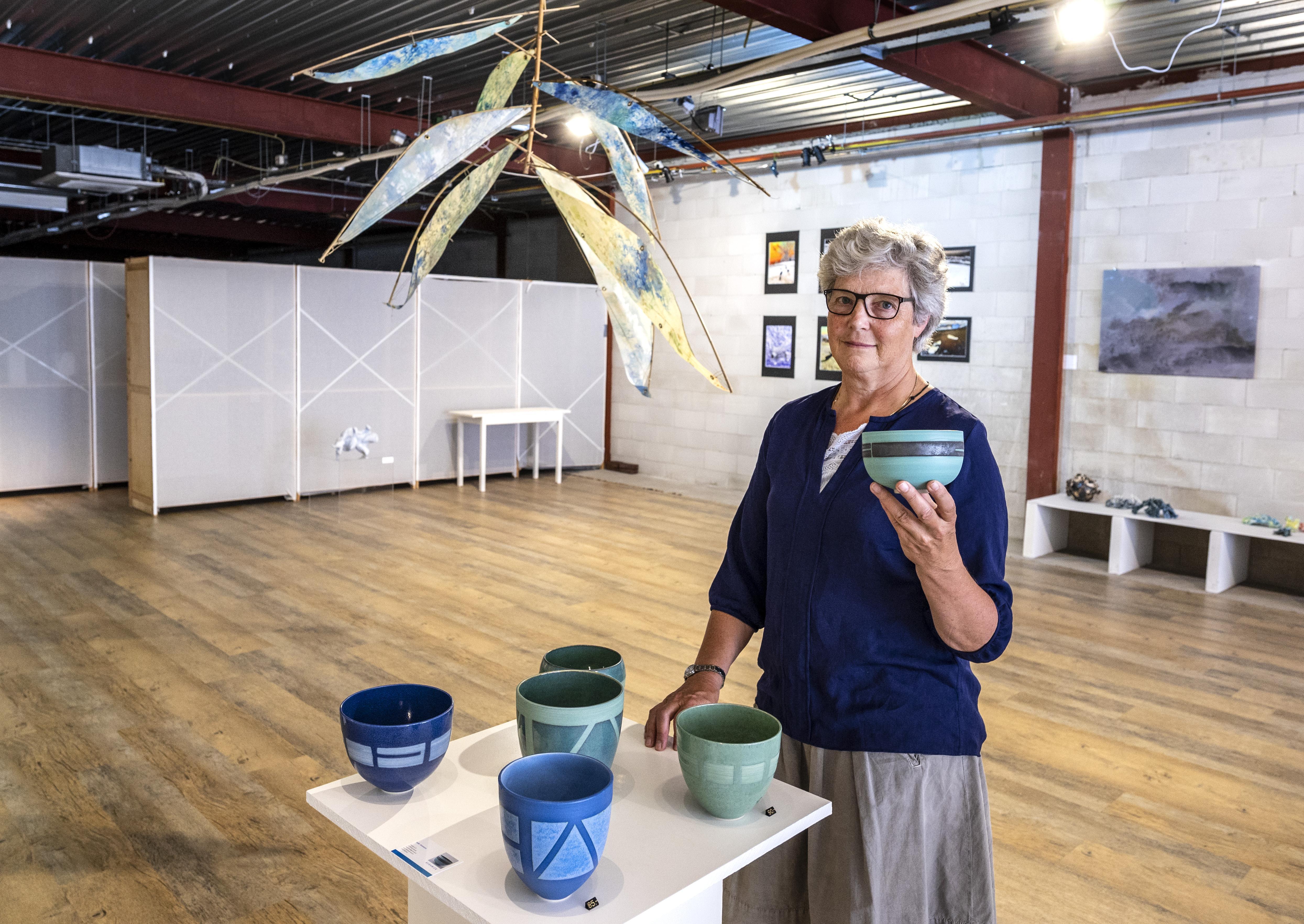 Zomerachtig werk van zeven kunstenaars te zien in de aangename koelte van Galerie Bloemendaal