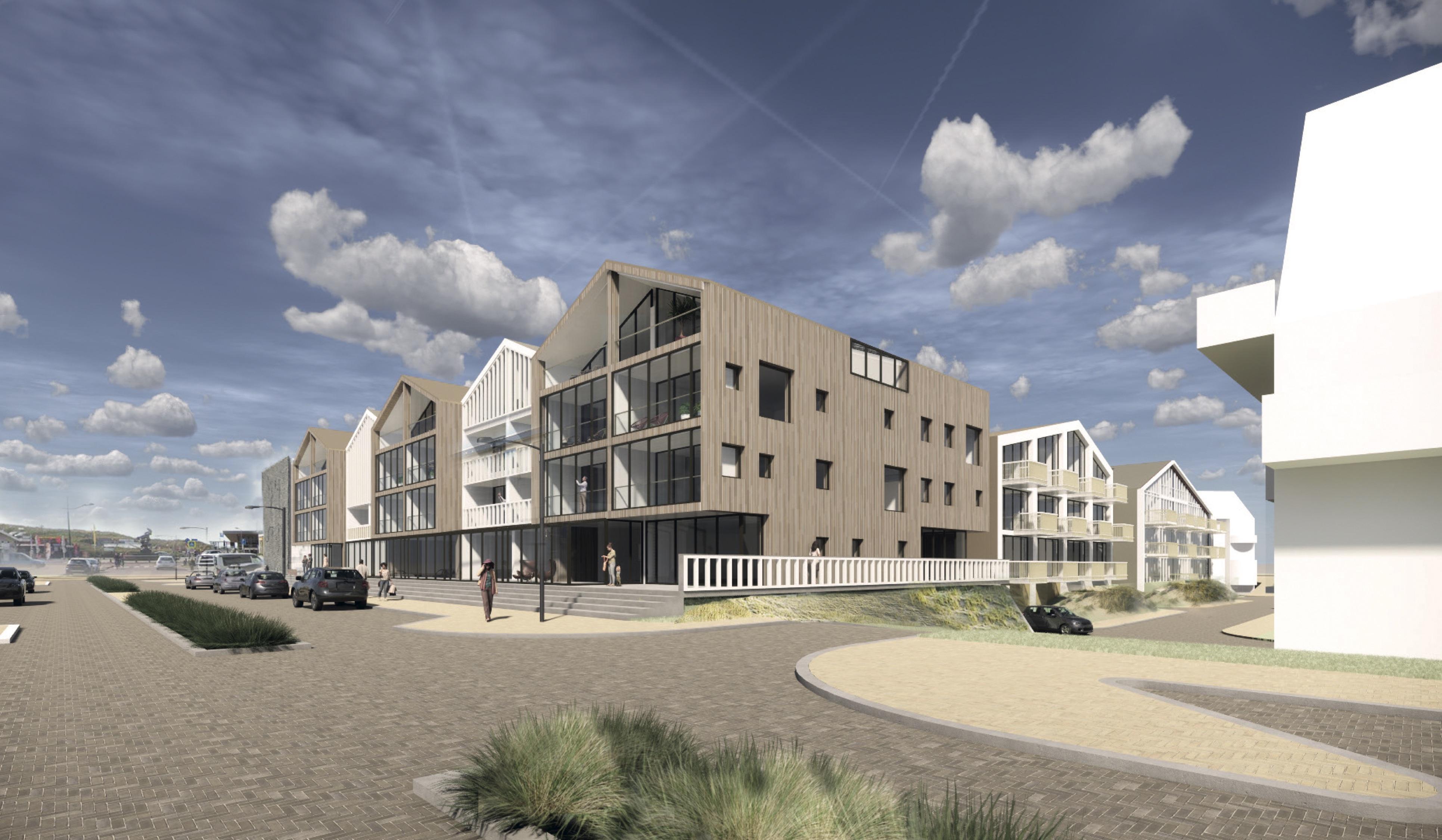 Krijgt Bergen aan Zee een luxere entree door komst 70 nieuwe appartementen? 'We gaan proberen echt een upgrade te geven, veel delen zijn nu verouderd'