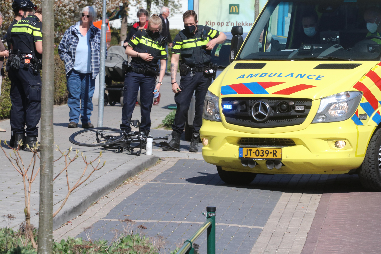 10-jarig meisje gewond bij botsing met fietser in Loosdrecht