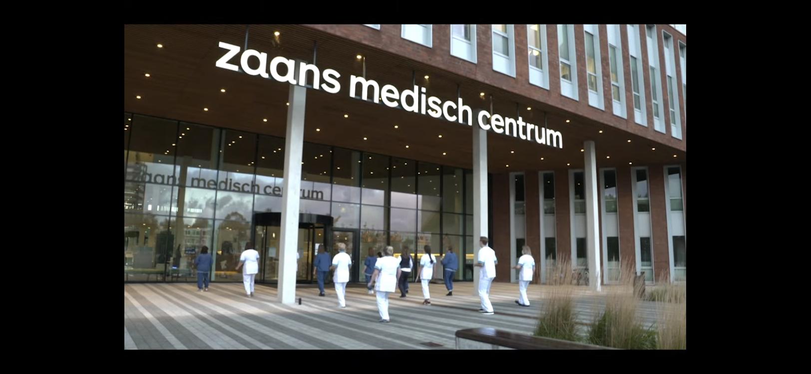 Personeel Zaans Medisch Centrum danst de Jerusalema Challenge in coronatijd [video]