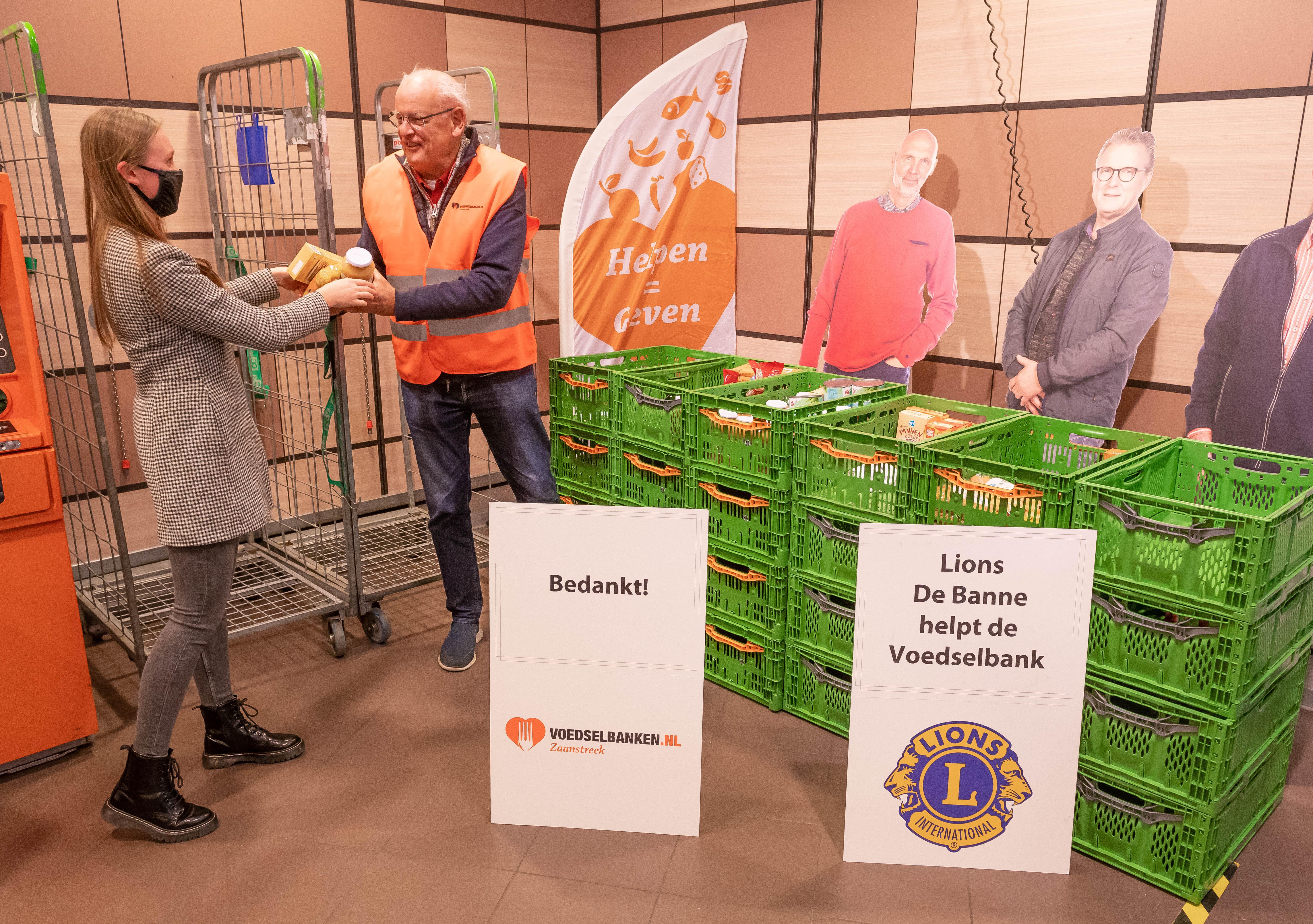 Niet veel soeps: inzamelingsactie Voedselbank Zaanstreek doet het zonder vrijwilligers