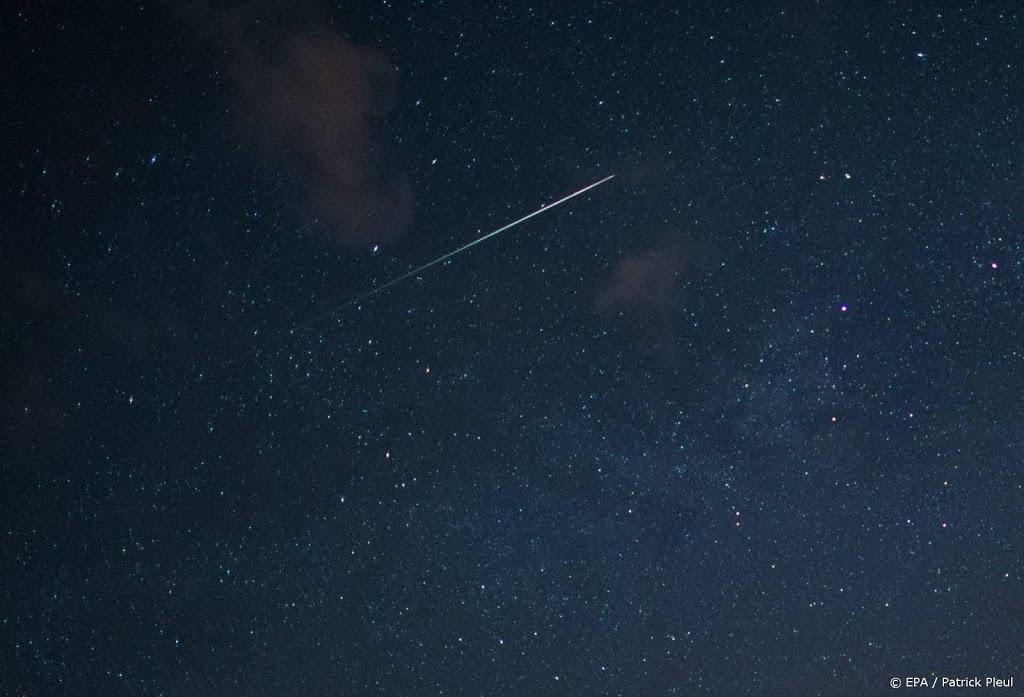 Vallende sterren van Orioniden waarschijnlijk redelijk te zien