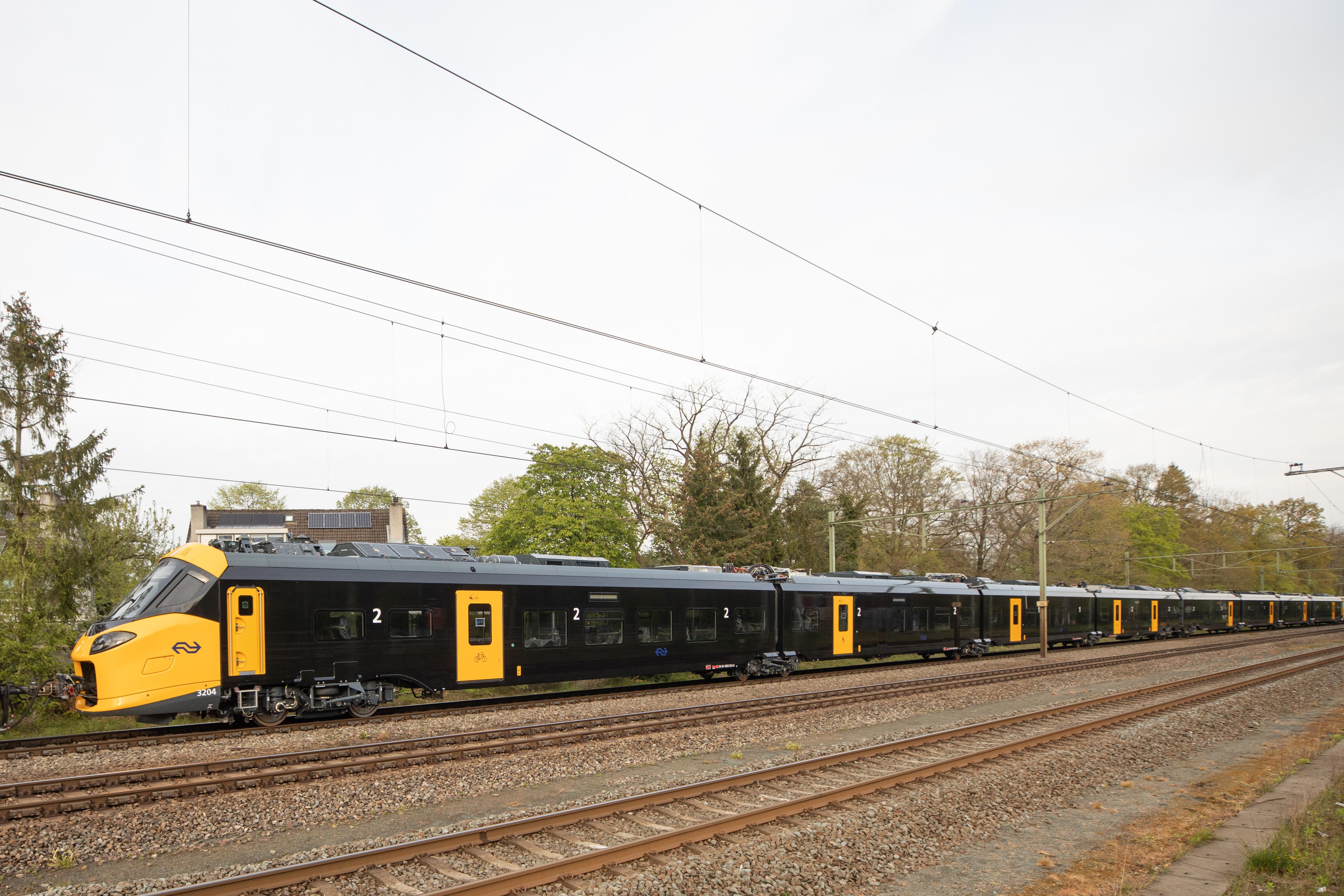 Een glimp van de trein van de toekomst