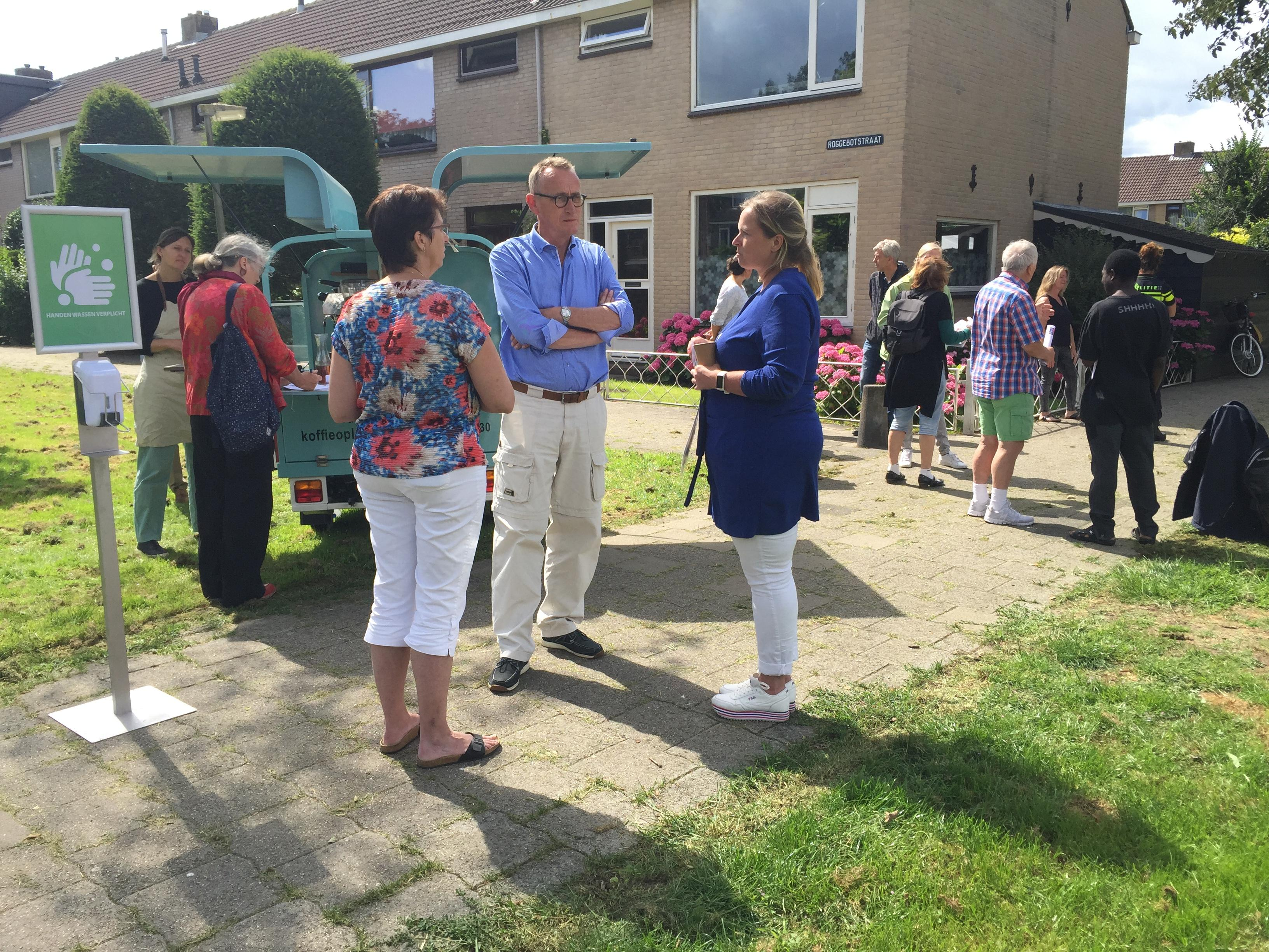Koffie-ochtend in Purmerendse stadsvernieuwingswijk: 'Blij dat er iets gaat gebeuren in Wheermolen-Oost'