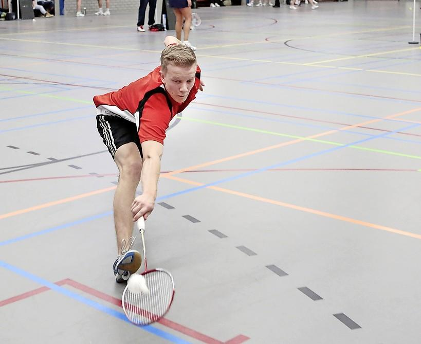 Badmintonners Huizen willen stabieler worden