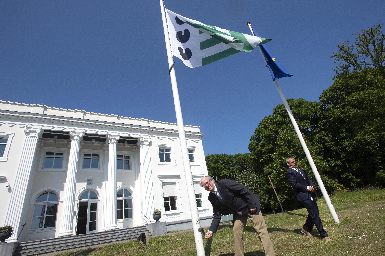 Bloemendaal heeft na tien jaar weer een officiële gemeentevlag
