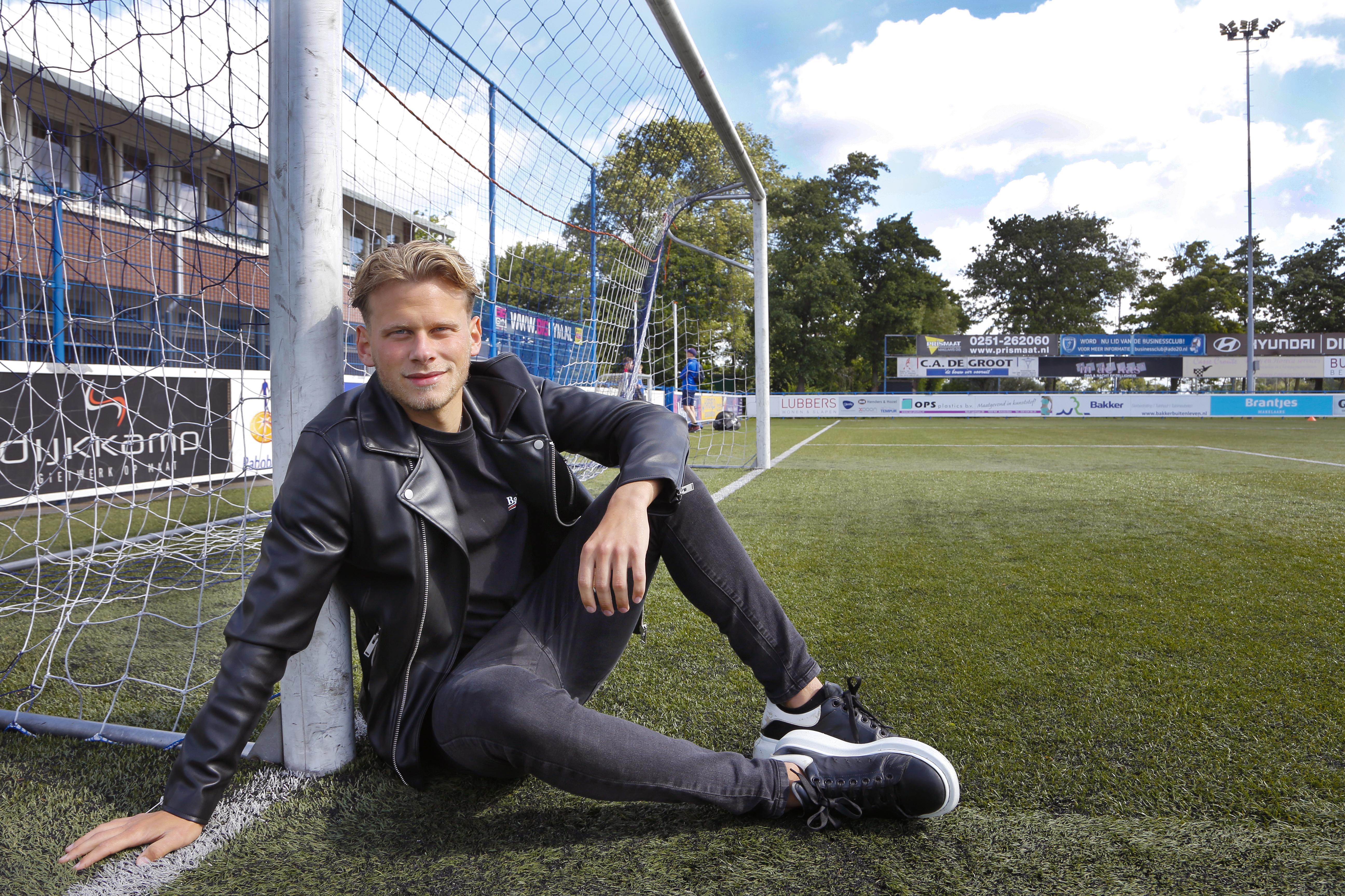 Doelman Björn Haggerty kiest na twee jaar SJC voor avontuur bij ADO'20: 'Lat bewust weer hoger gelegd'
