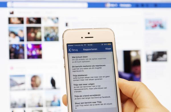 NVJ: 'Facebook niet gratis helpen'