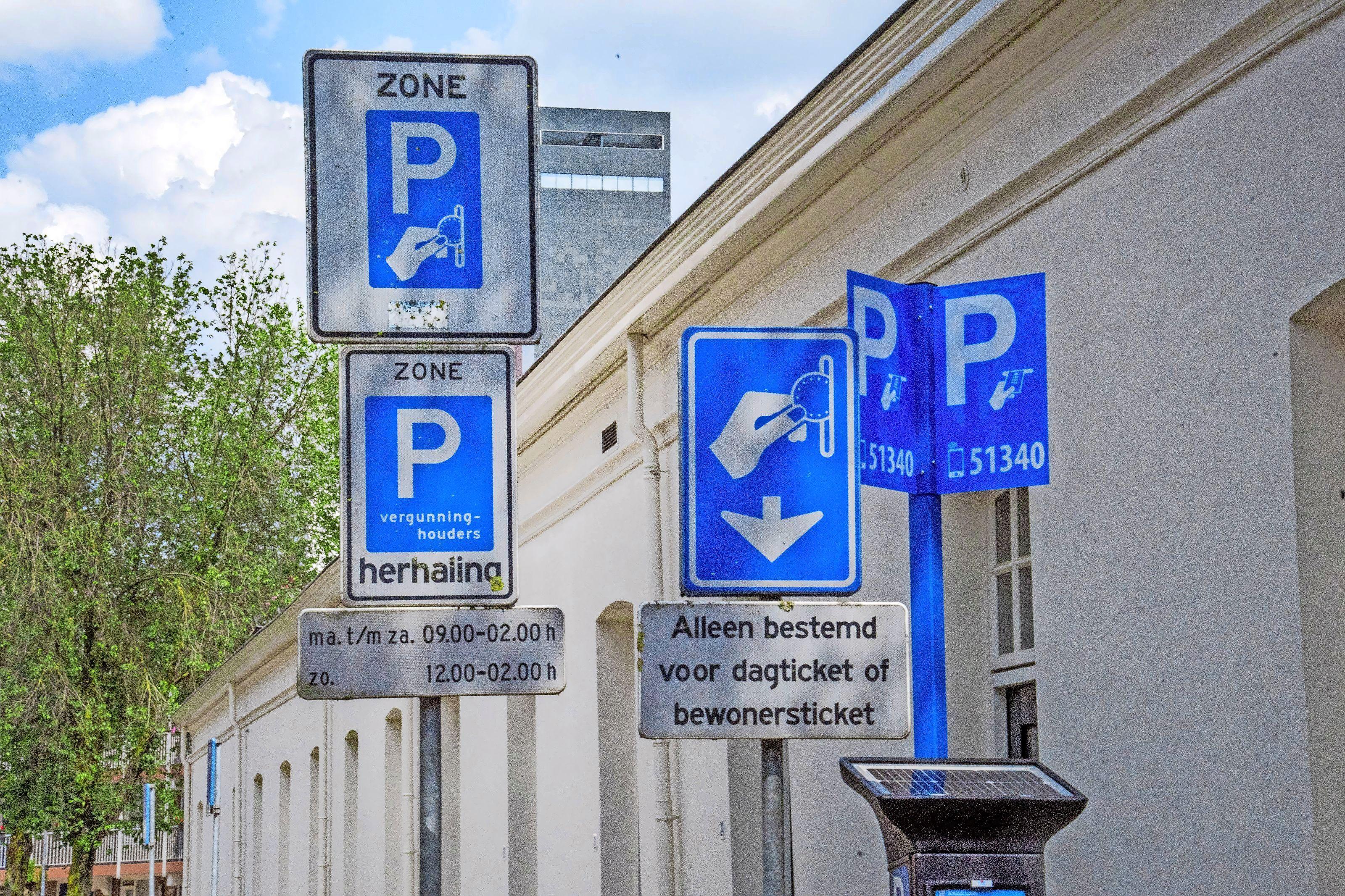 Parkeerbelasting Oegstgeest grap van VVD